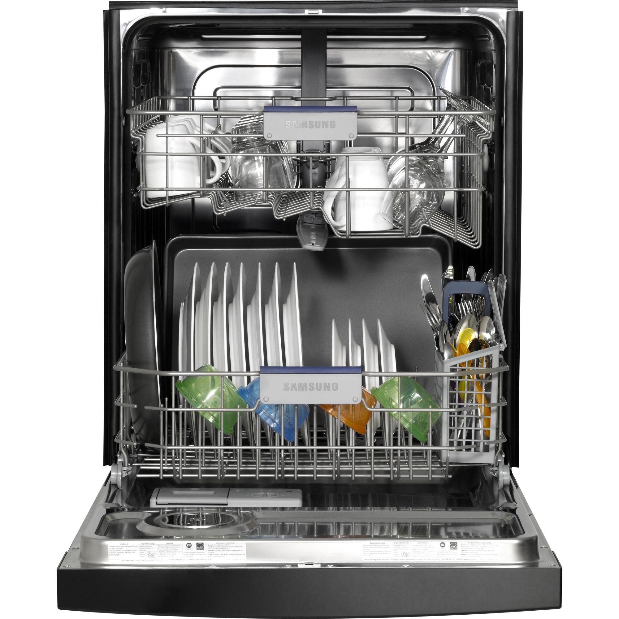 Samsung 24 in. Built-In Dishwasher (Model DMT300RFB)