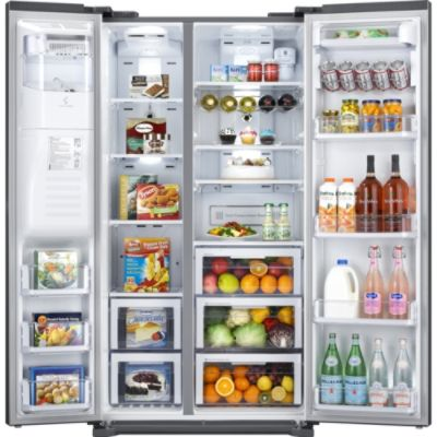 Kenmore Elite 24.0 cu. ft. Counter-Depth Side-by-Side Refrigerator