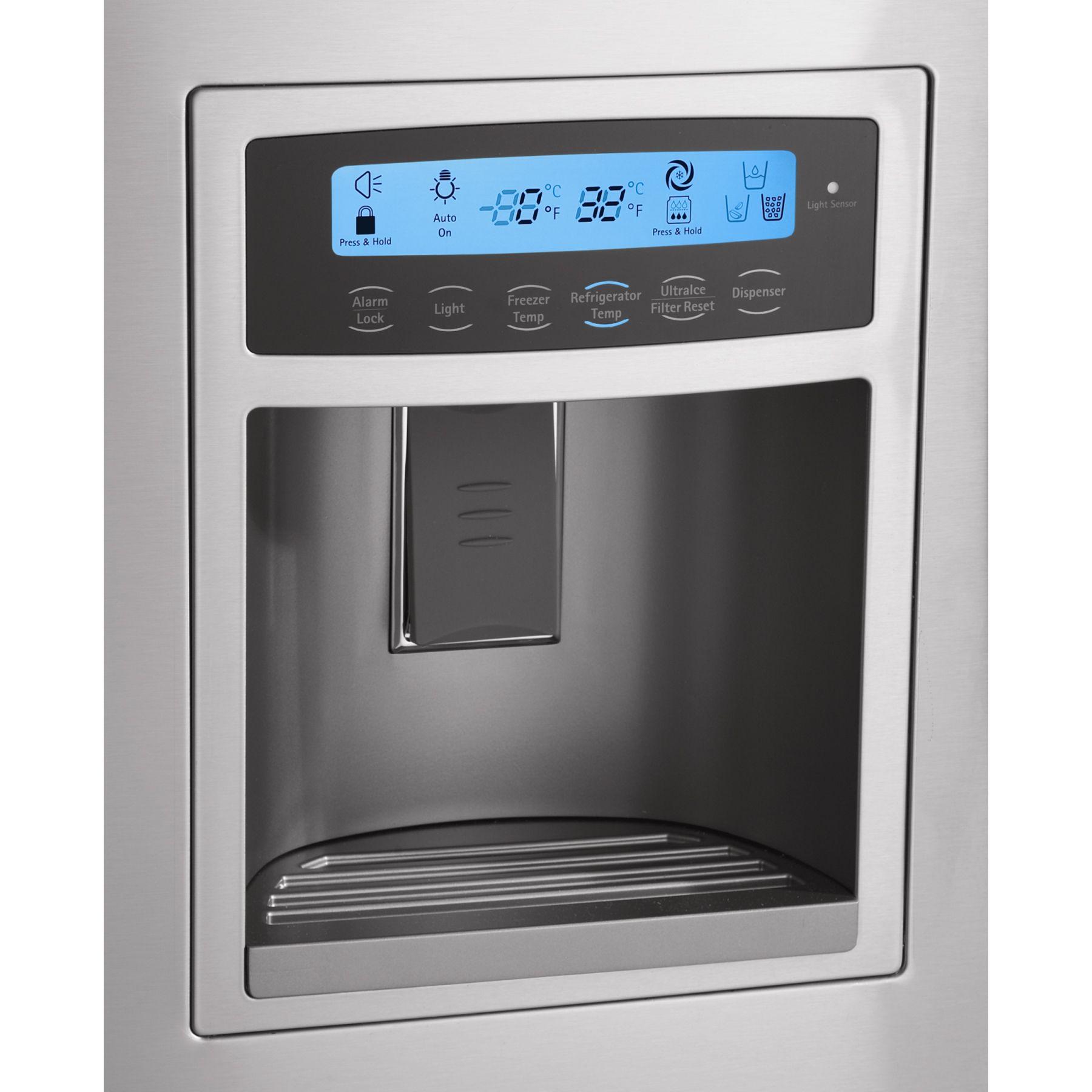 Kenmore Elite 21.0 cu. ft. French-Door Counter-Depth Bottom-Freezer Refrigerator