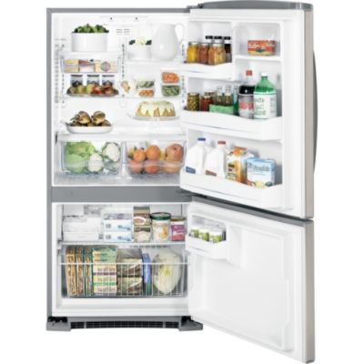GE 20.3 cu. ft. Bottom-Freezer Refrigerator
