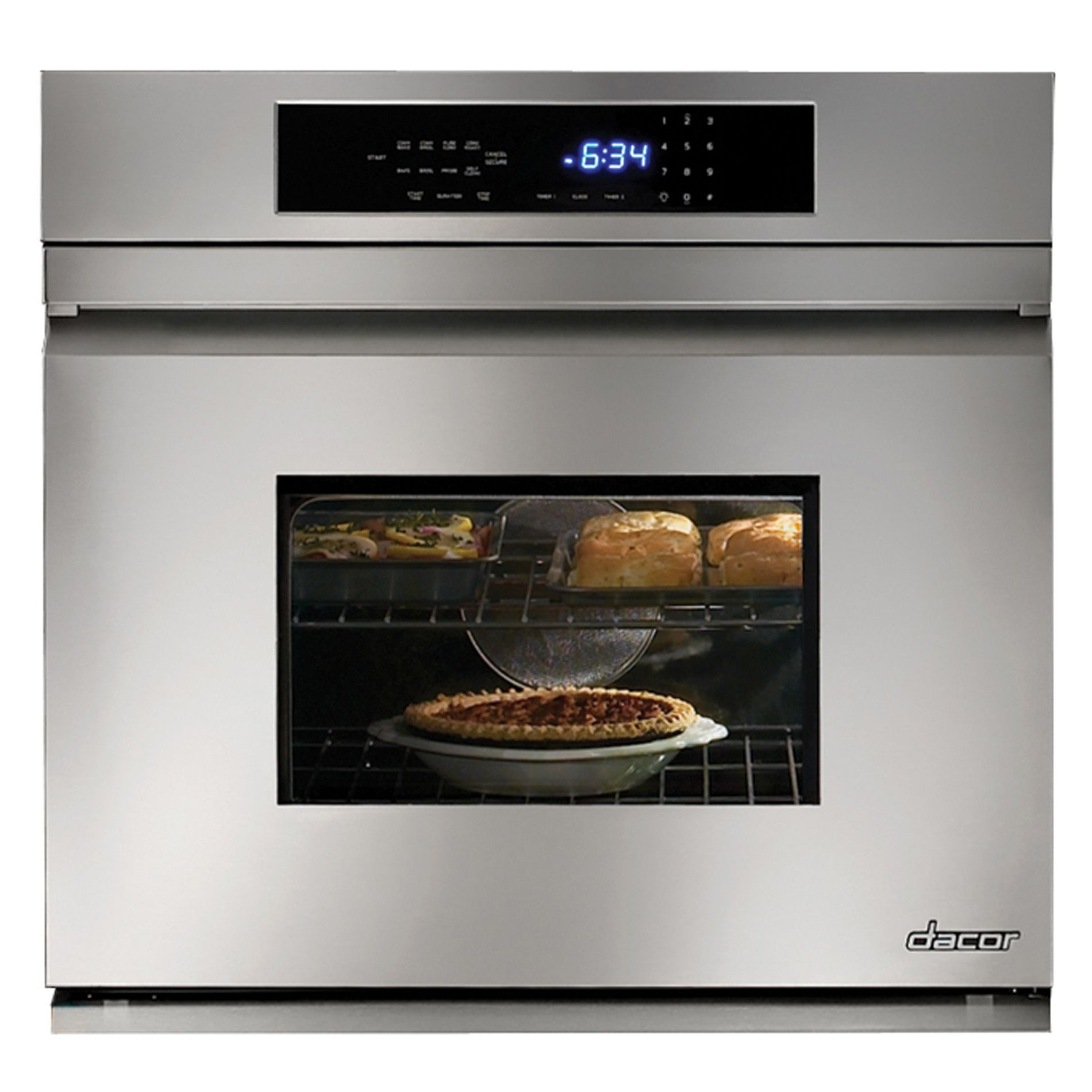 Dacor Distinctive™ 30-inch Electric Single Wall Oven Stainless Steel
