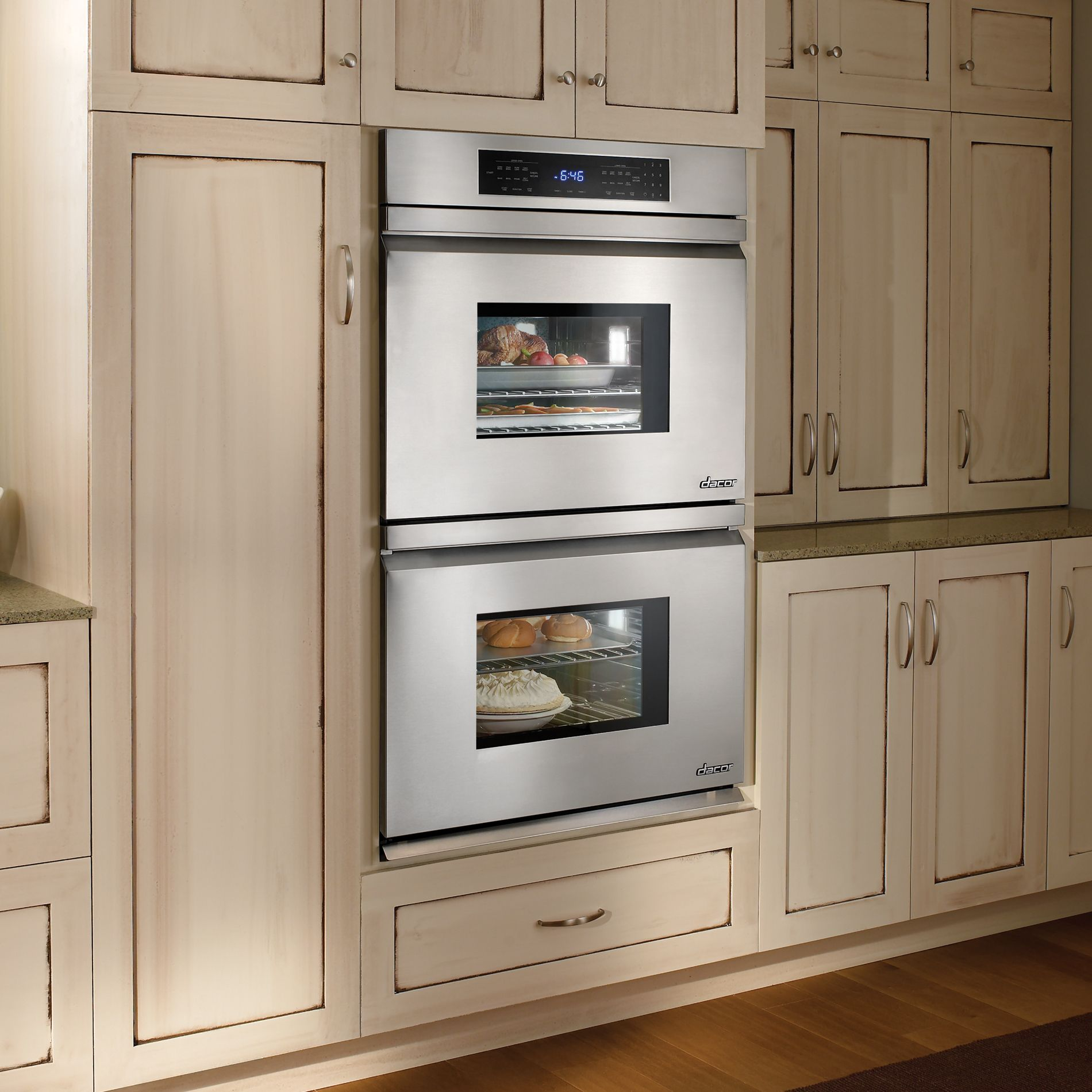 "Dacor Distinctive 30"" Double Electric Wall Oven - Stainless Steel"