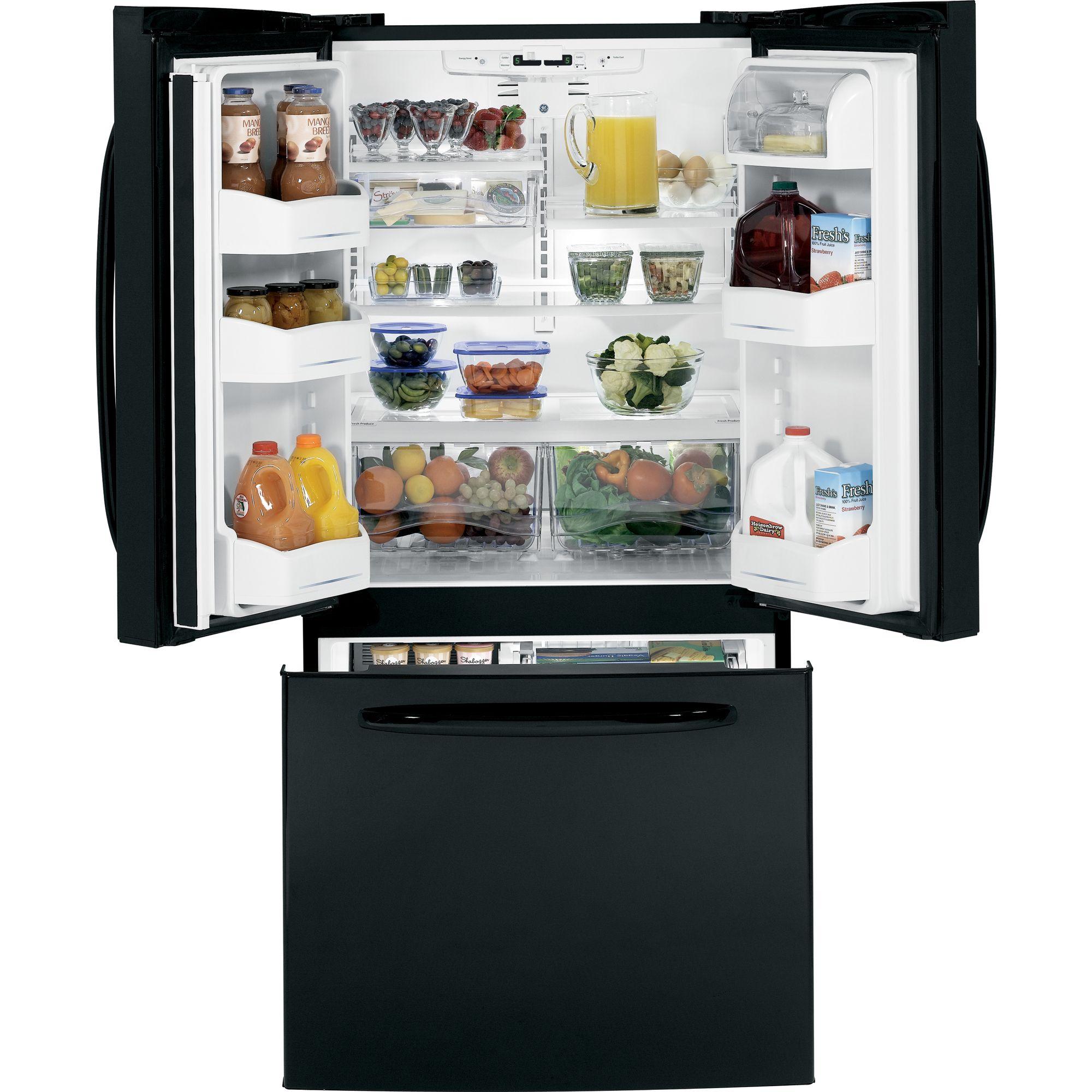 GE 22.0 cu. ft. French-Door Bottom-Freezer Refrigerator