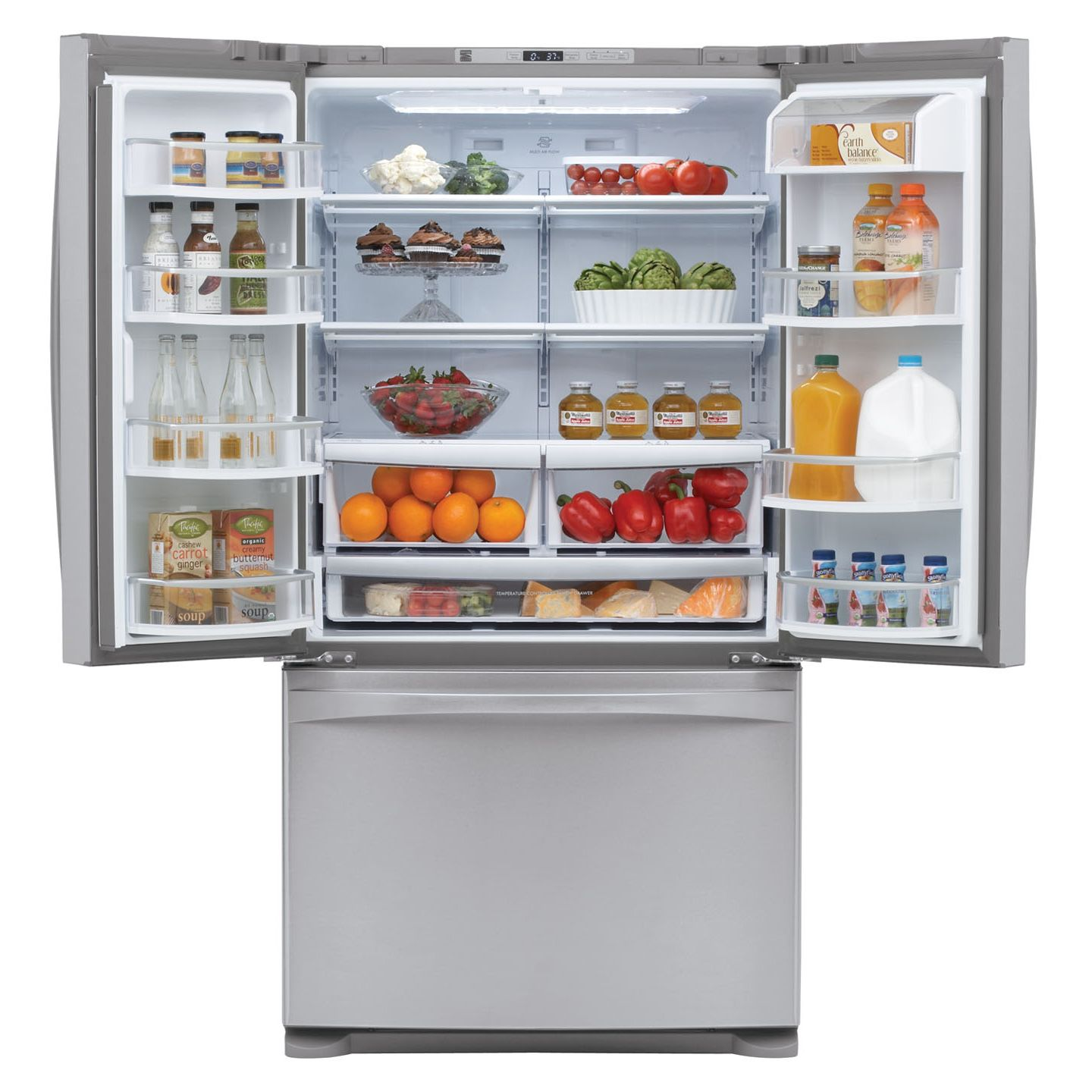 Kenmore Elite 27.6 cu. ft. French-Door Bottom-Freezer Refrigerator
