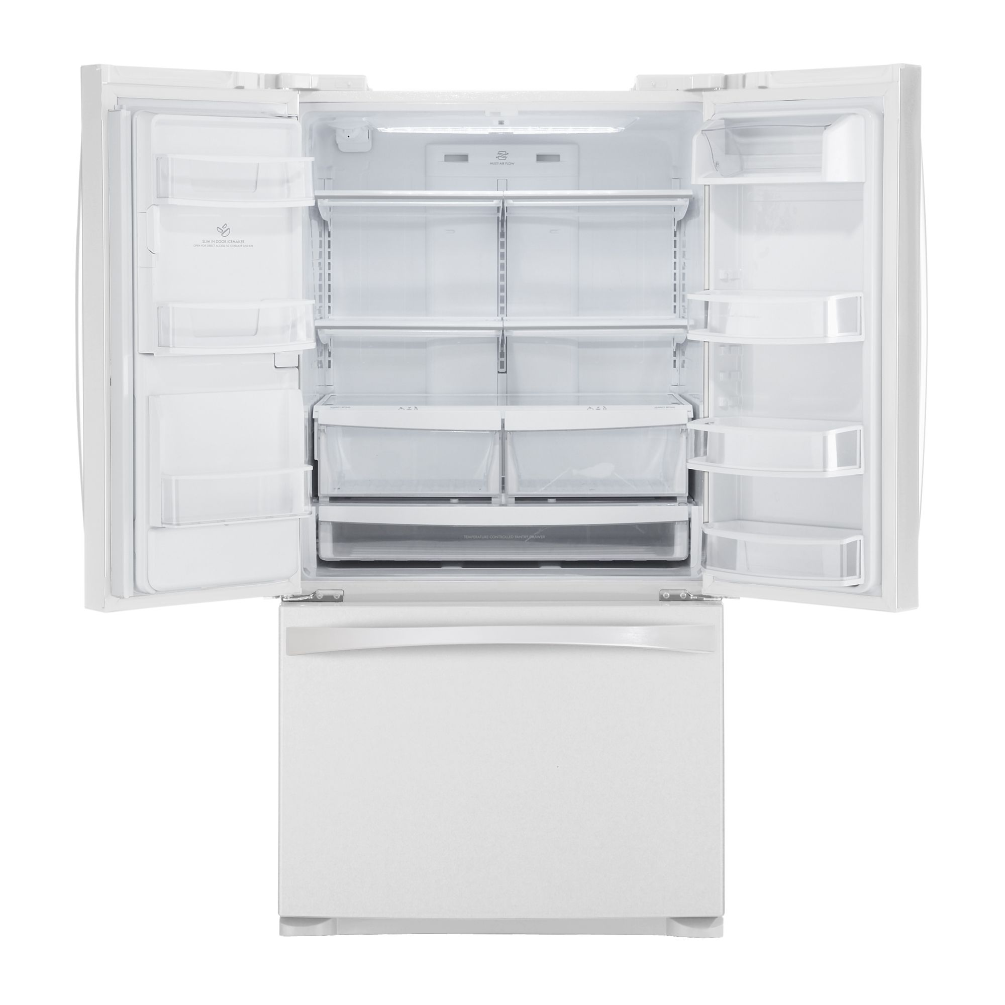 Kenmore Elite 27.6 cu. ft. French Door Bottom-Freezer Refrigerator - White