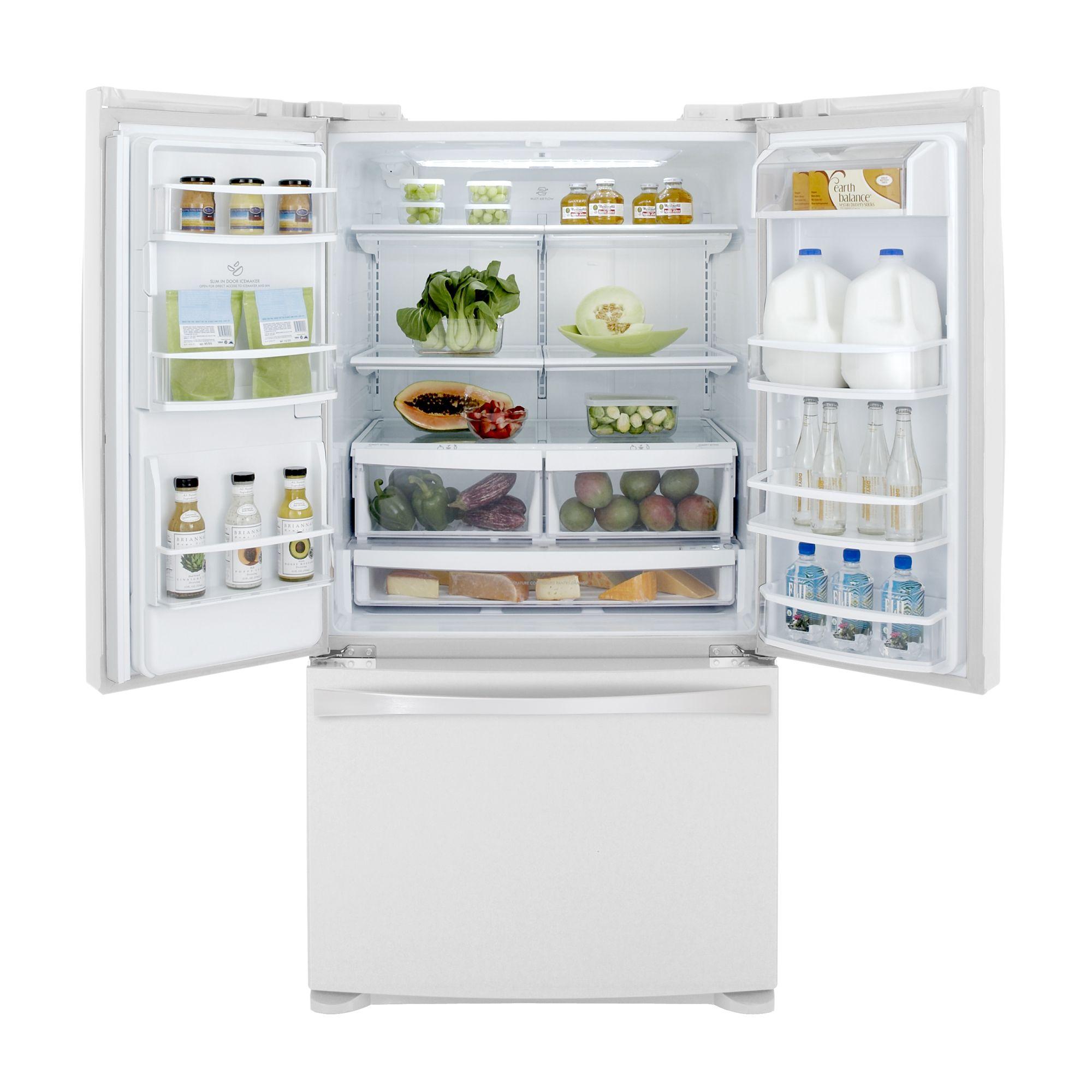 Kenmore Elite 27.6 cu. ft. French Door Bottom-Freezer Refrigerator - White