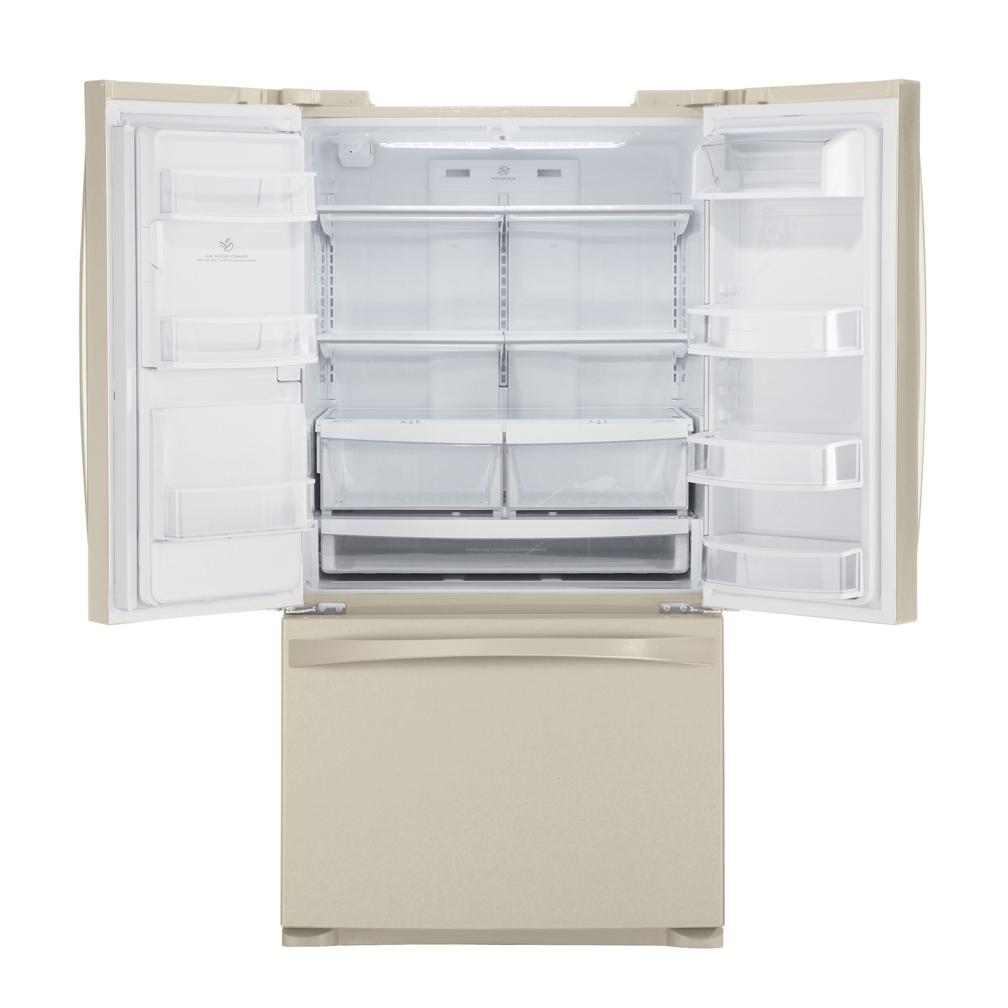 Kenmore Elite 27.6 cu. ft. French Door Bottom-Freezer Refrigerator - Bisque