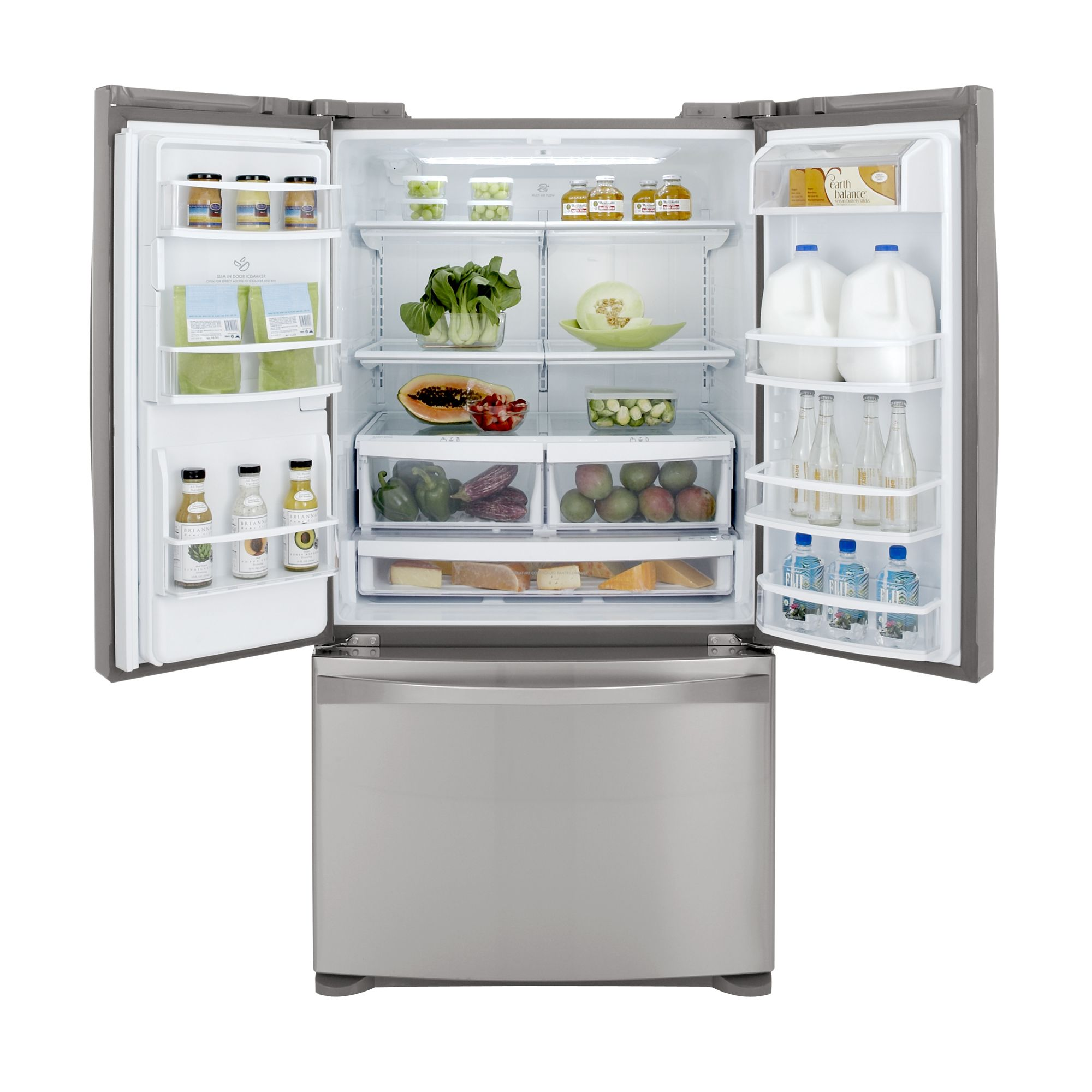 Kenmore Elite 27.6 cu. ft. French Door Bottom-Freezer Refrigerator