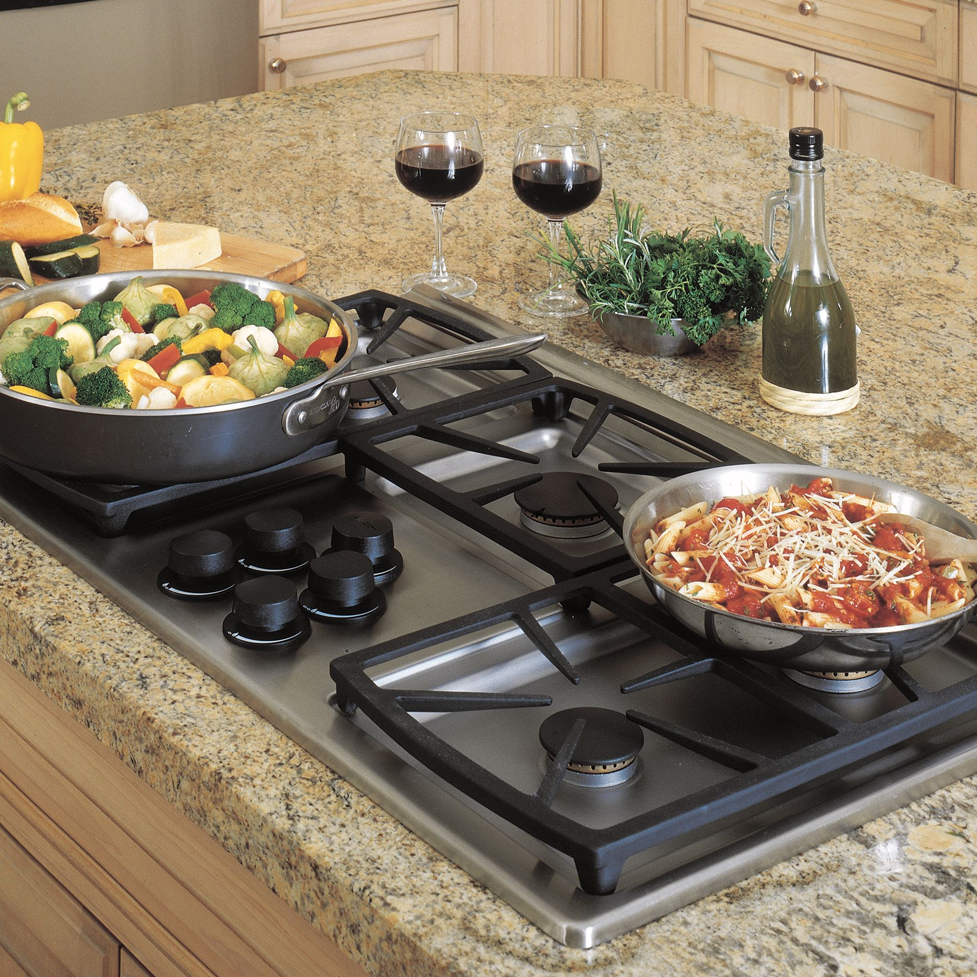 "Dacor SGM365SLP Classic 36"" Gas Cooktop, Stainless Steel - Liquid Propane"