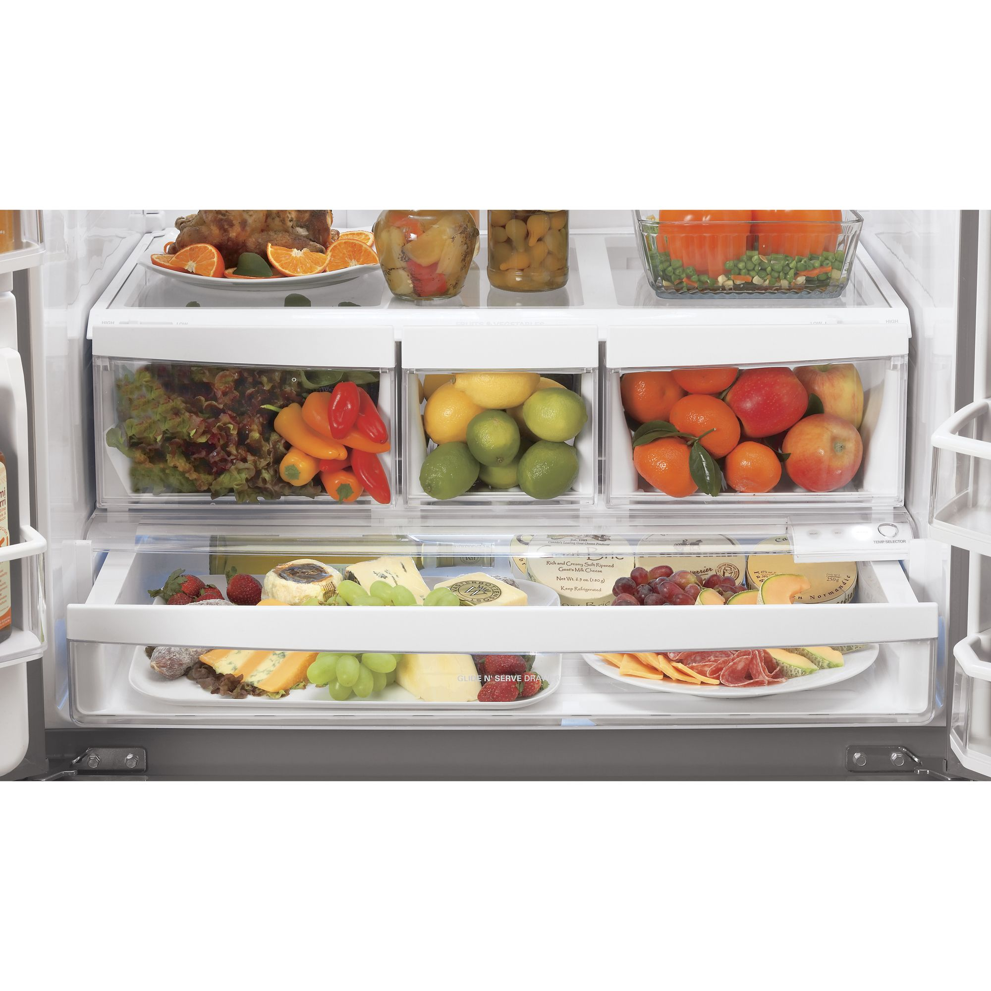 LG 27.6 cu. ft.  French Door Bottom-Freezer Refrigerator