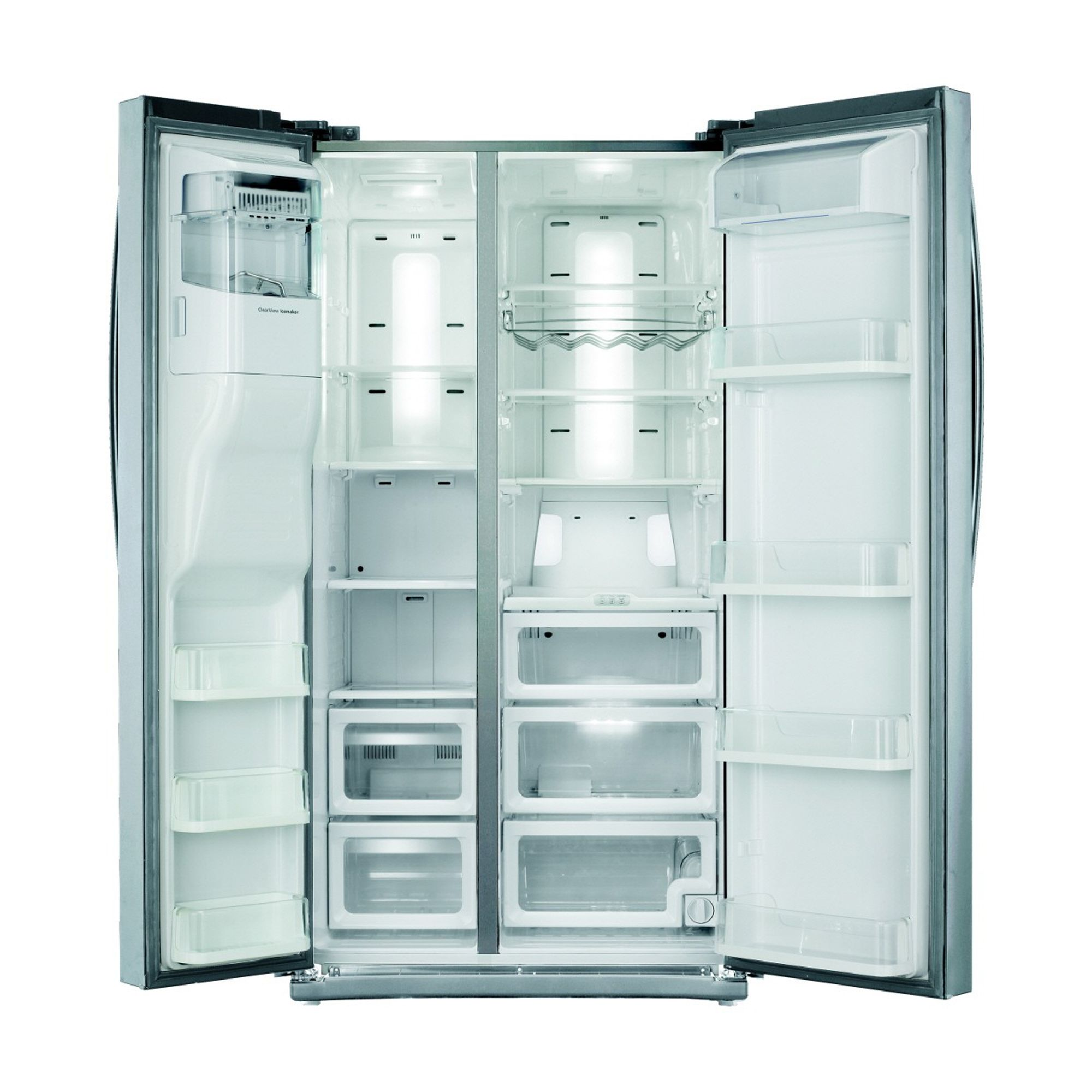 Samsung 25.5 cu. ft. Side-by-Side Refrigerator-Stainless Steel
