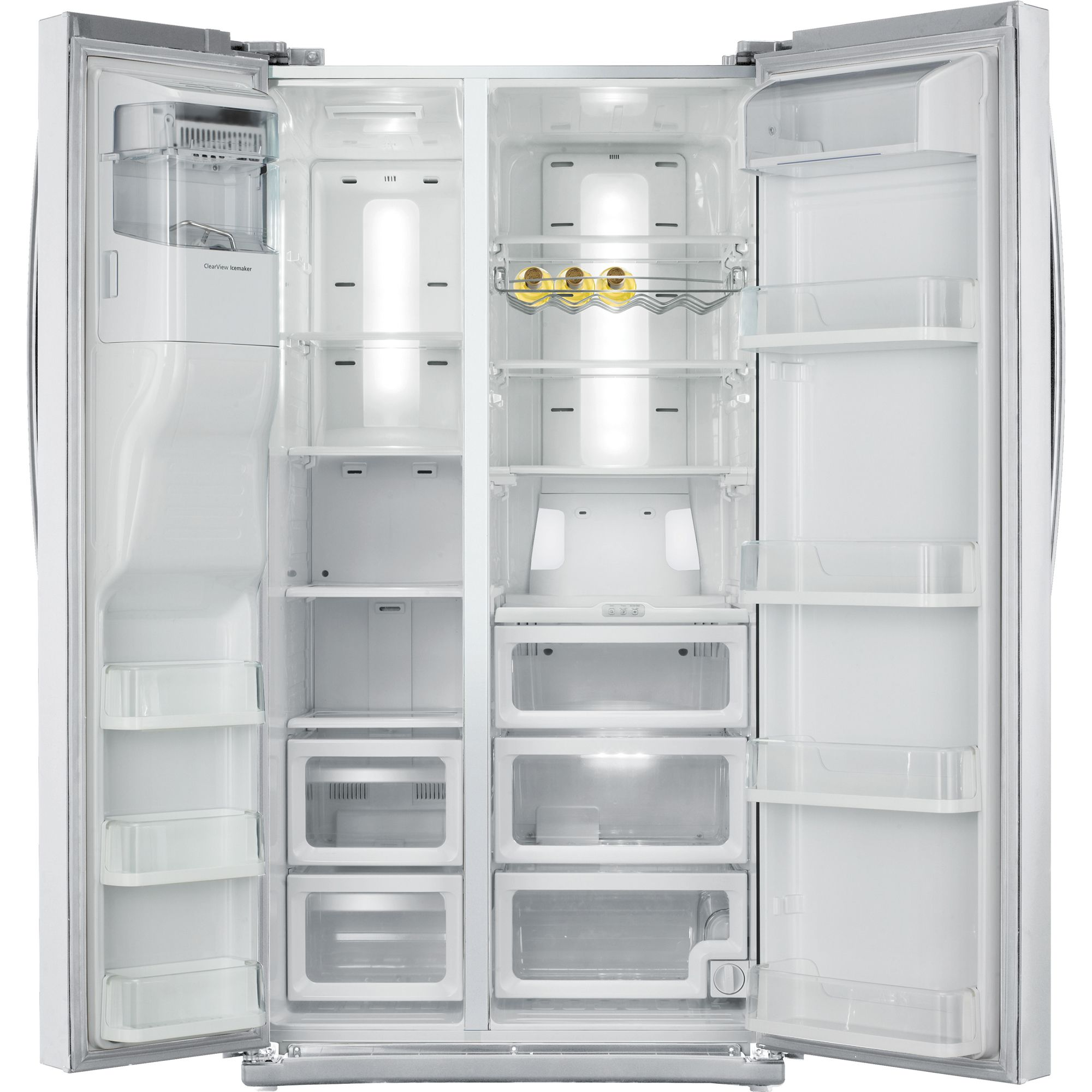 Samsung 25.5 cu. ft. Side-by-Side Refrigerator-White