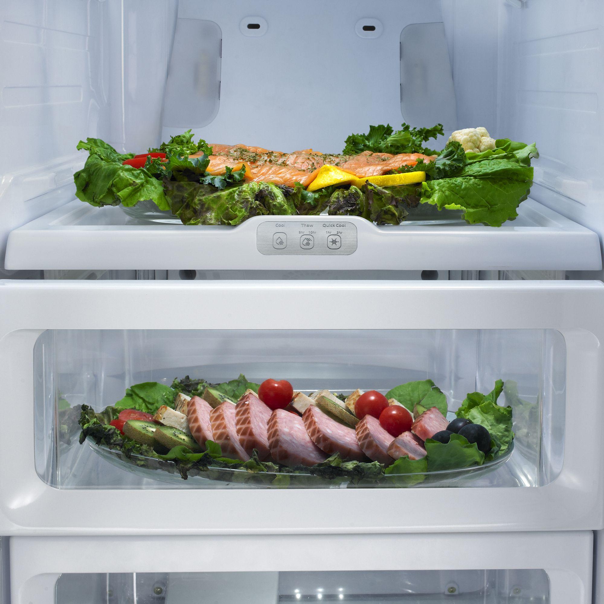 Samsung 25.5 cu. ft. Side-by-Side Refrigerator-Black
