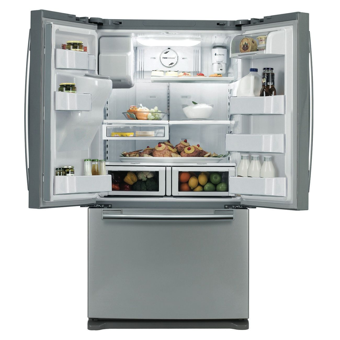Samsung 26.0 cu. ft. Bottom-Freezer Refrigerator