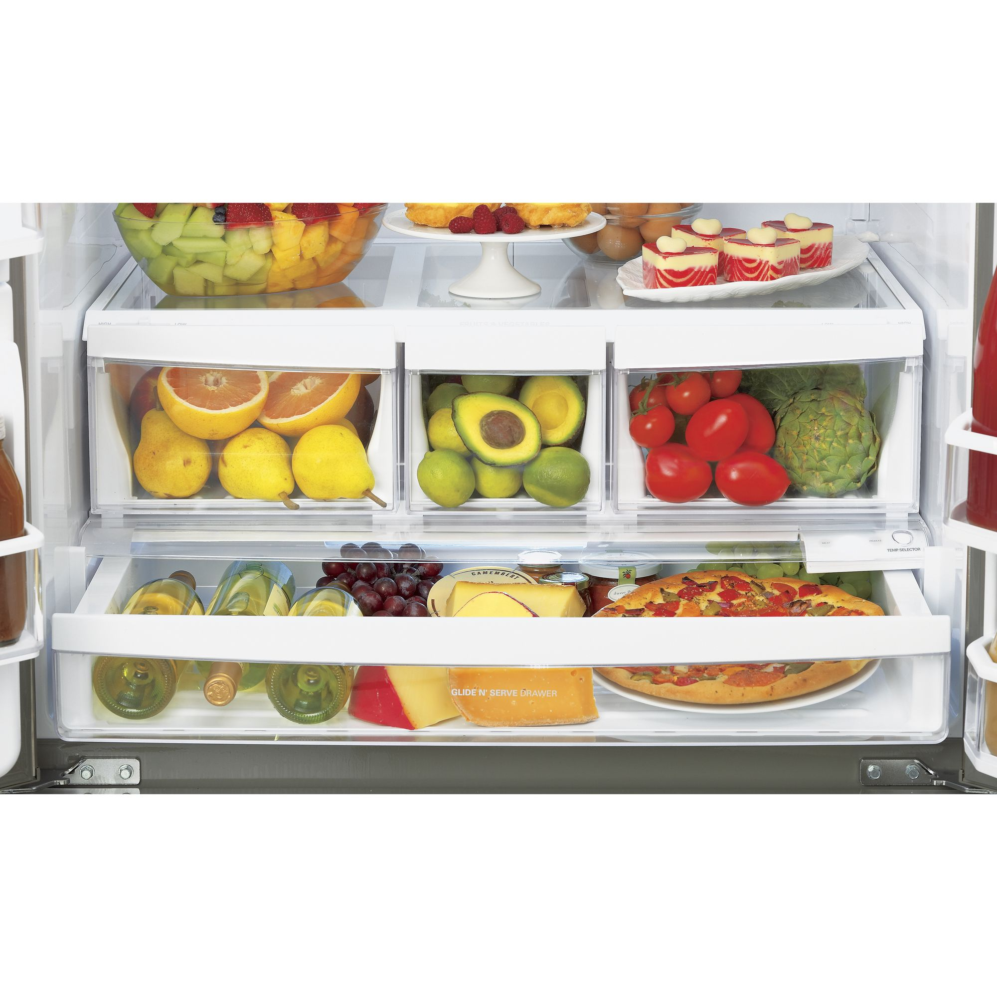 LG 27.5 cu. ft.  French Door Bottom-Freezer Refrigerator