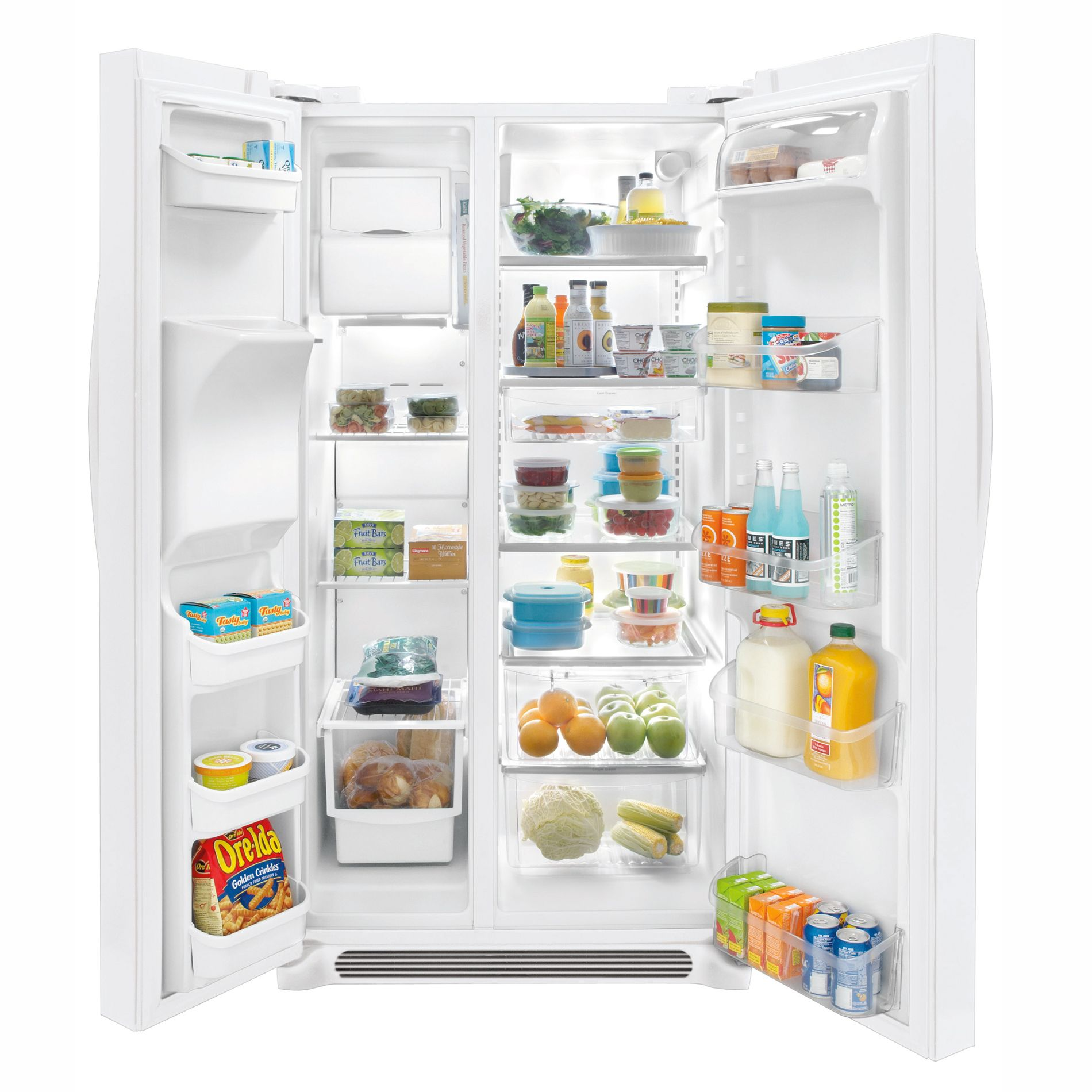 Frigidaire Gallery 26.0 cu. ft. Side-by-Side Refrigerator - Pearl White