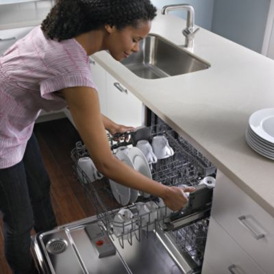 "Kenmore Elite 24"" Built-In Dishwasher w/ 360° PowerWash™ - Stainless Steel"