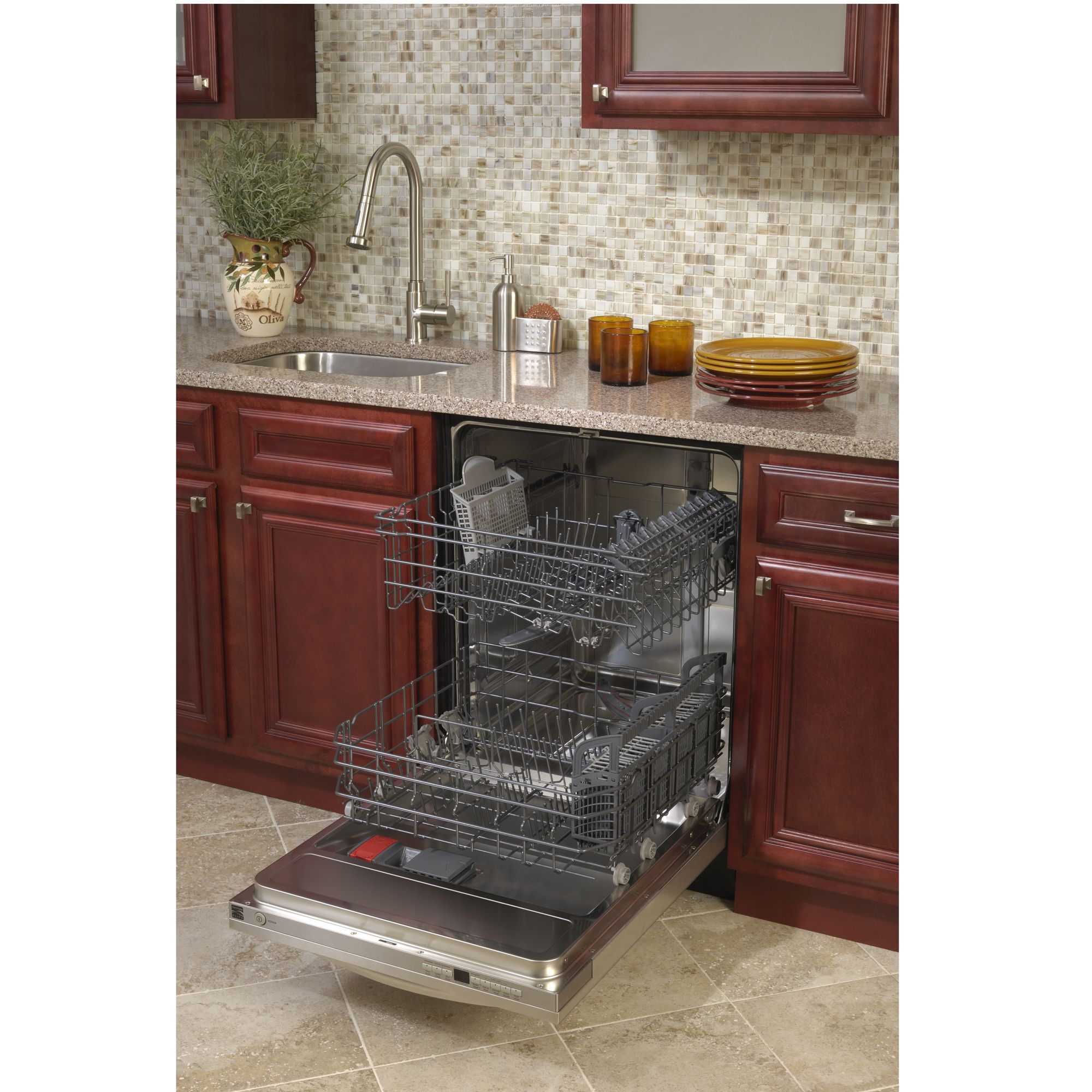Kenmore Elite 24 in. Built-In Dishwasher - Stainless Steel