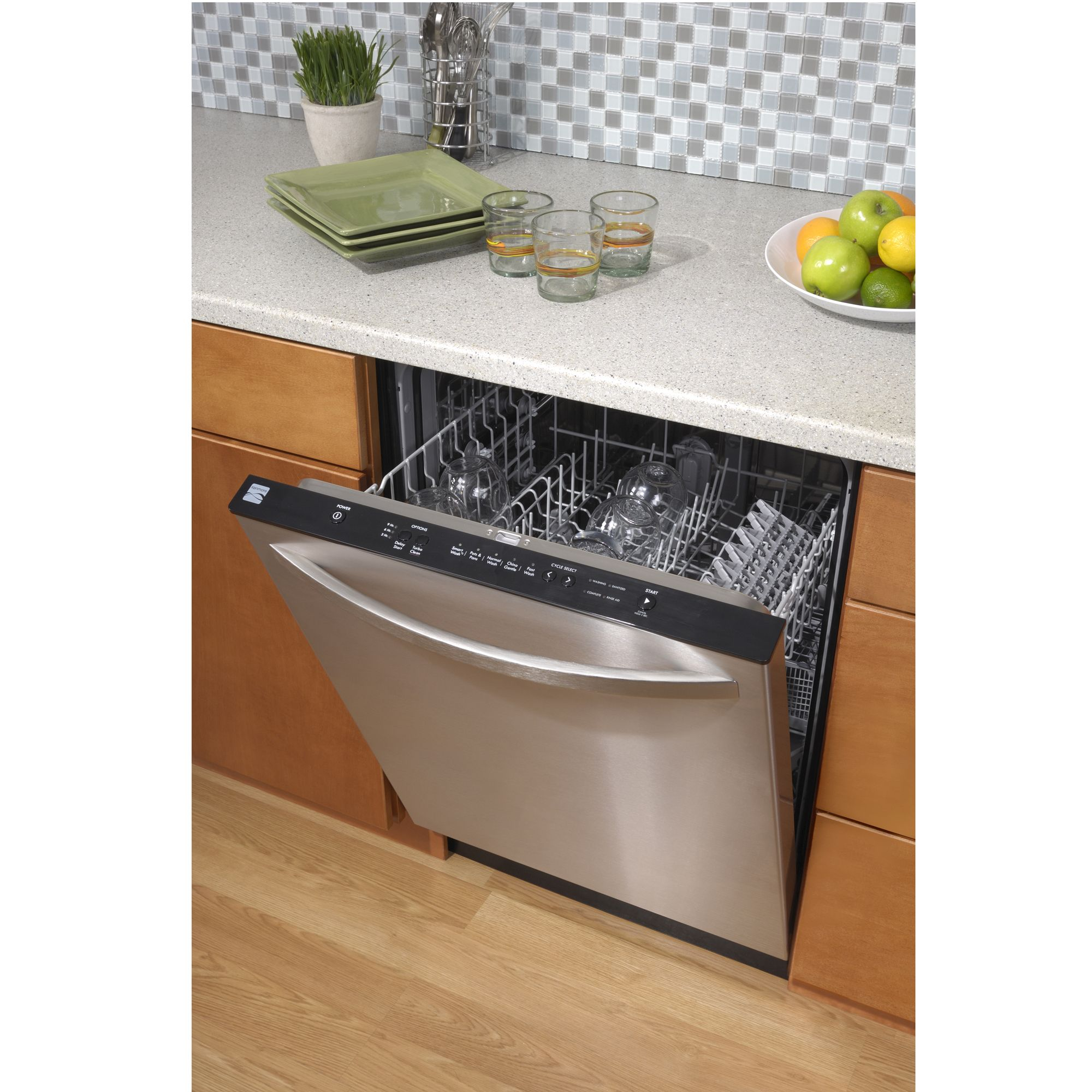 Kenmore 24 in. Built-In Dishwasher - Stainless Steel
