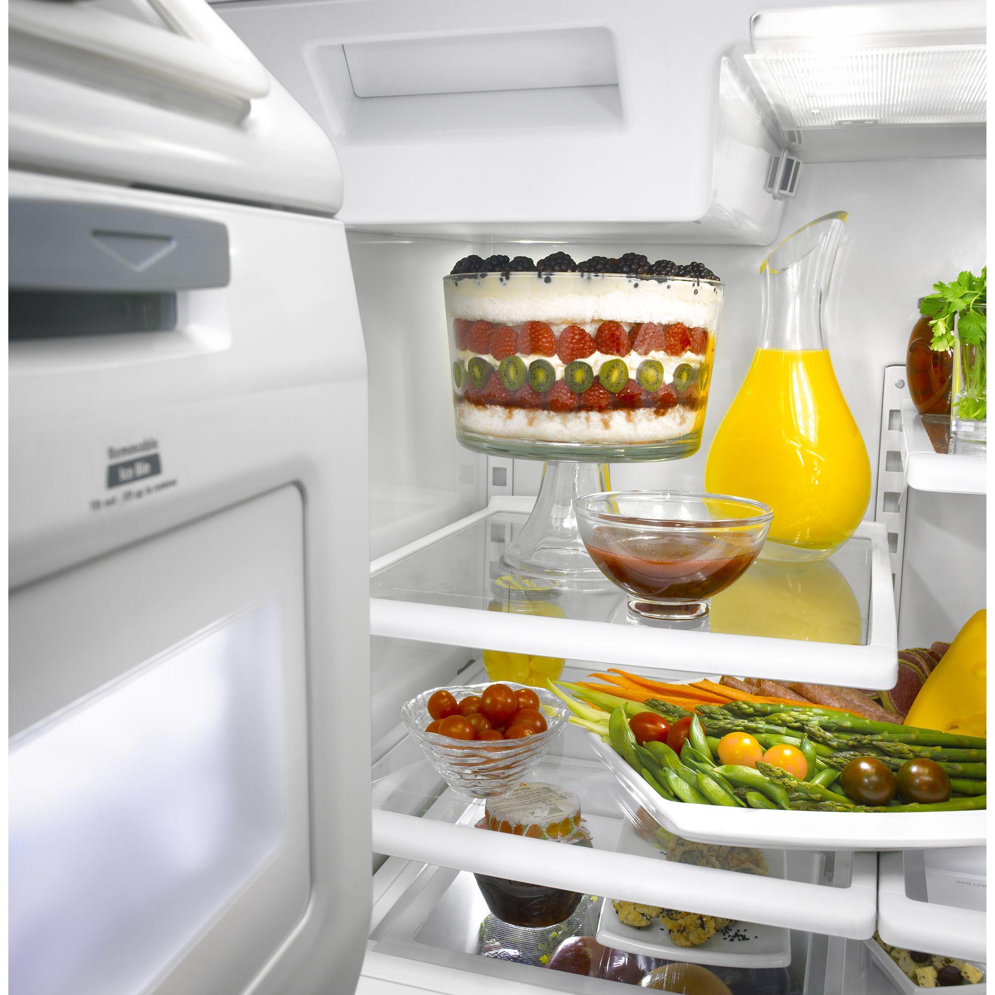 KitchenAid 26.6 cu. ft. French Door Bottom Freezer Refrigerator w/ Dispenser