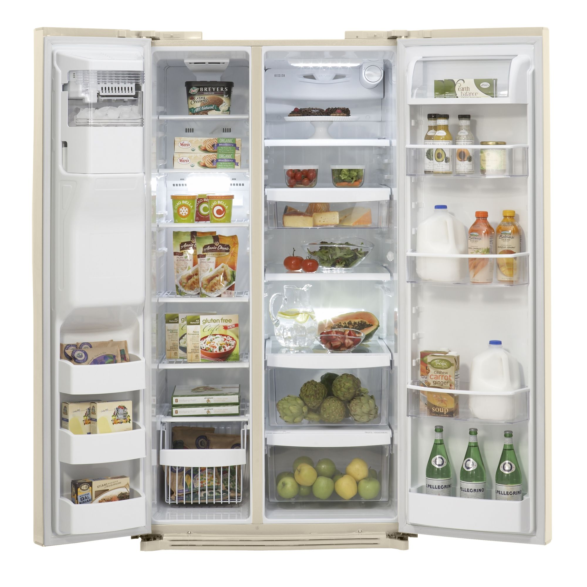 Kenmore Elite 26.5 cu. ft. Side-by-Side Refrigerator
