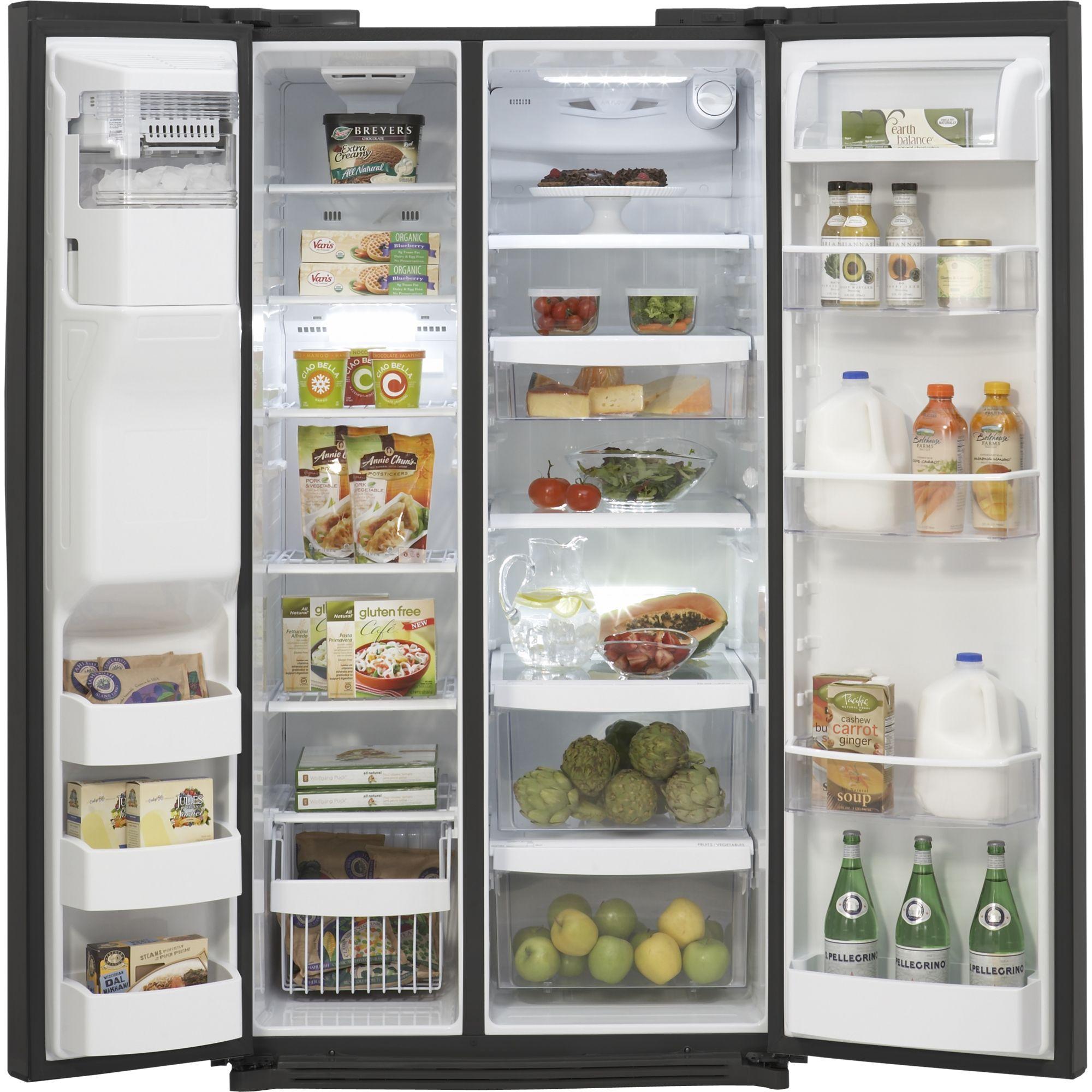 Kenmore Elite 26.5 cu. ft. Side-by-Side Refrigerator