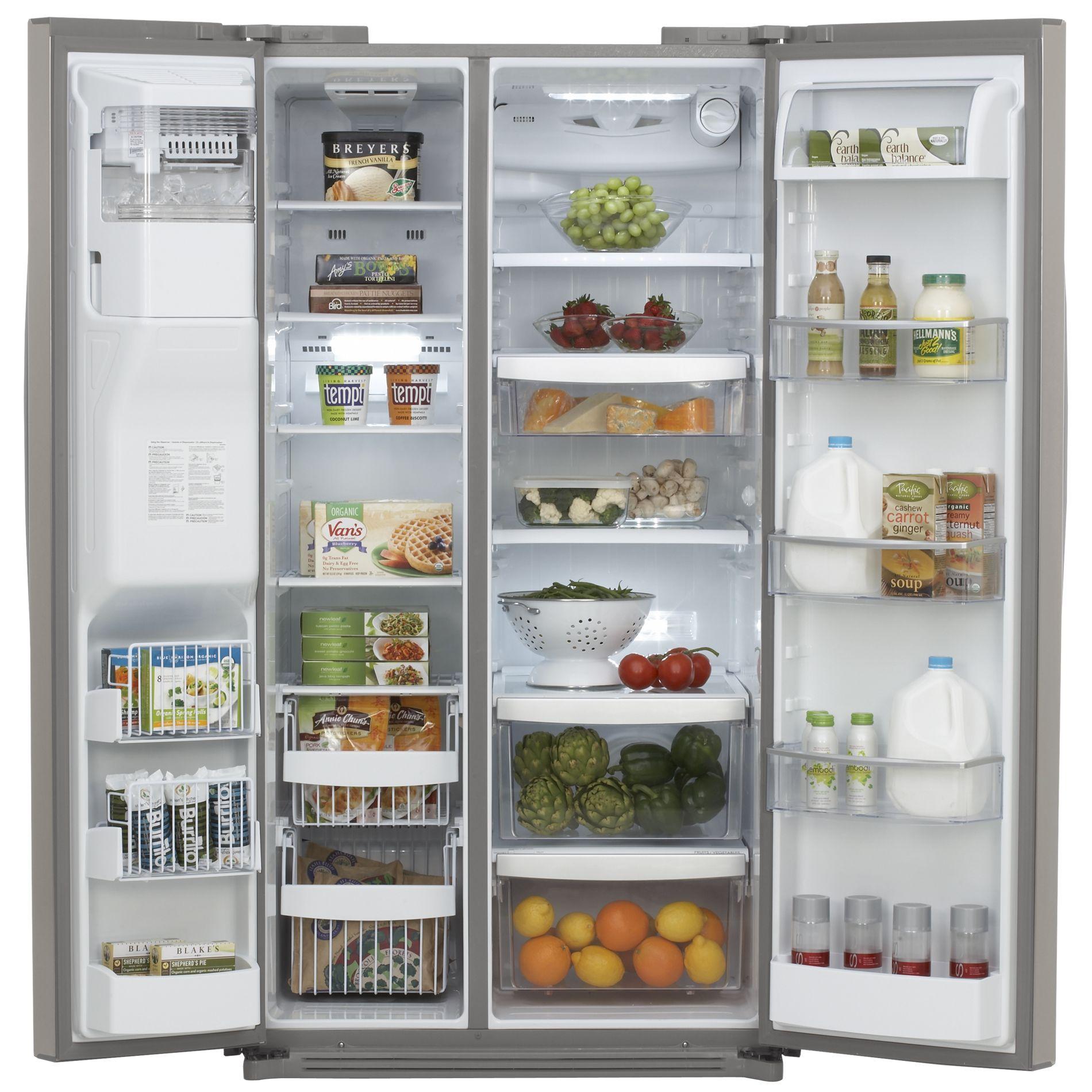 Kenmore Elite 26.5 cu. ft. Side-by-Side Refrigerator (5108)