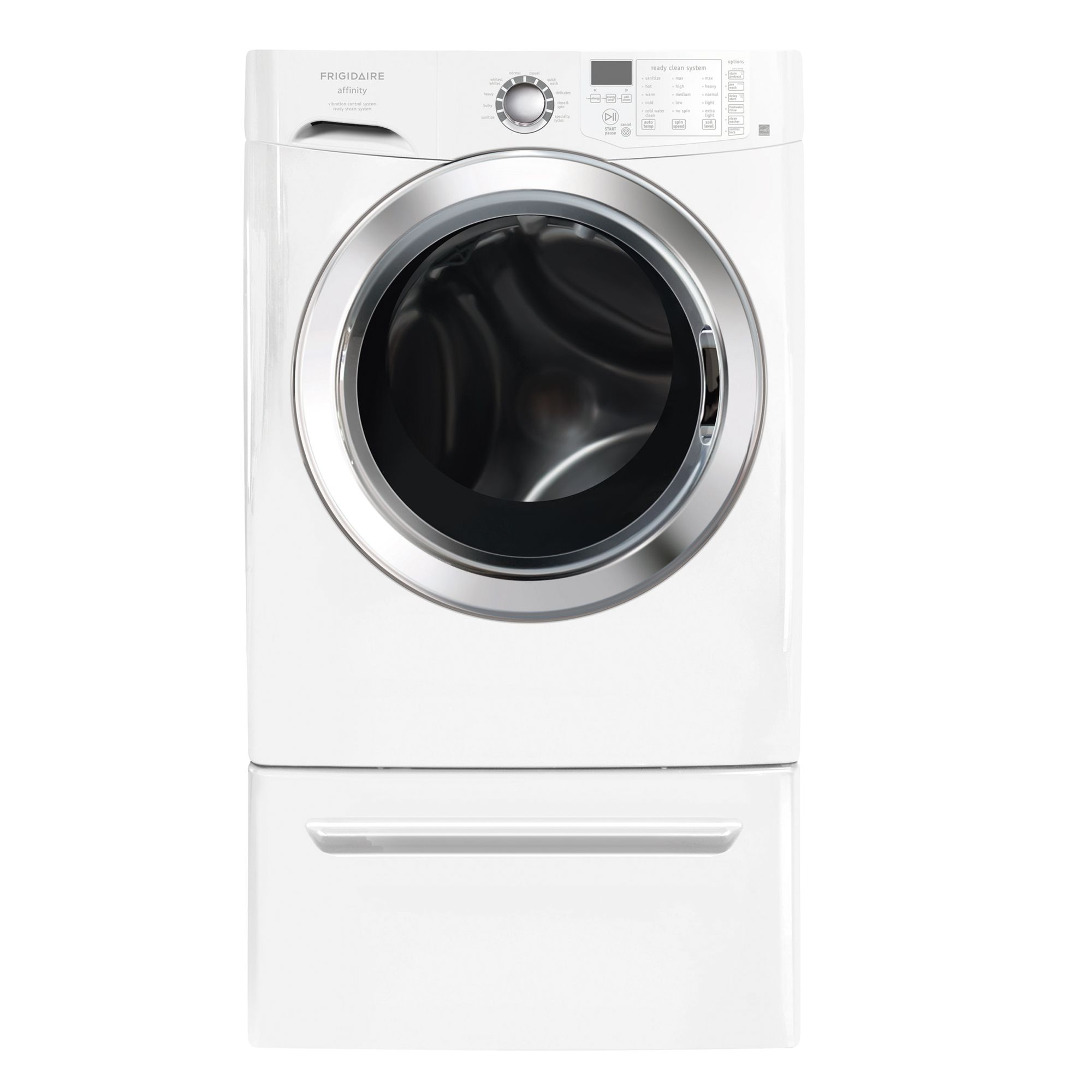Frigidaire Affinity 3.8 cu. ft. Front-Load Steam Washer (FAFS4474LW)