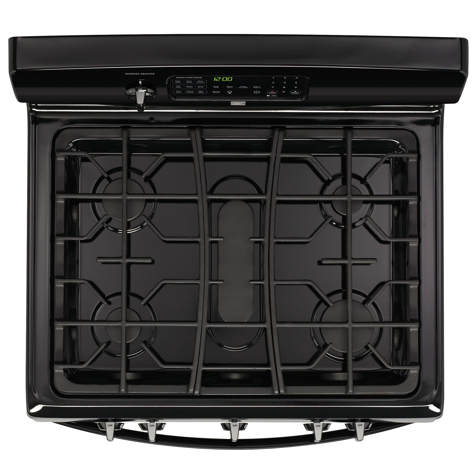 Kenmore 5.0 cu. ft. Freestanding Gas Range - Black