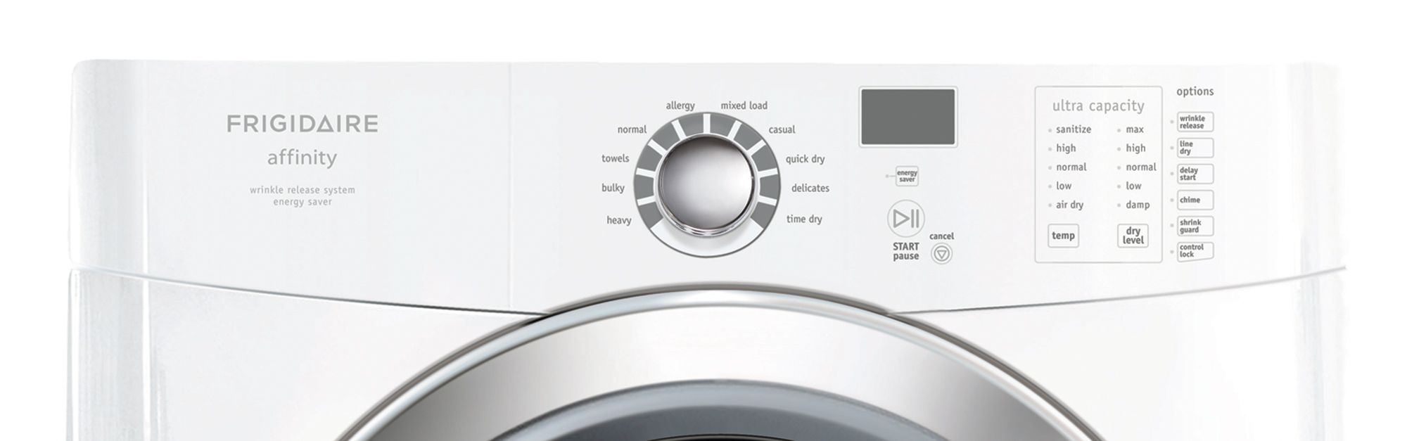 Frigidaire Affinity 7.0 cu. ft. Electric Dryer (FAQE7072)
