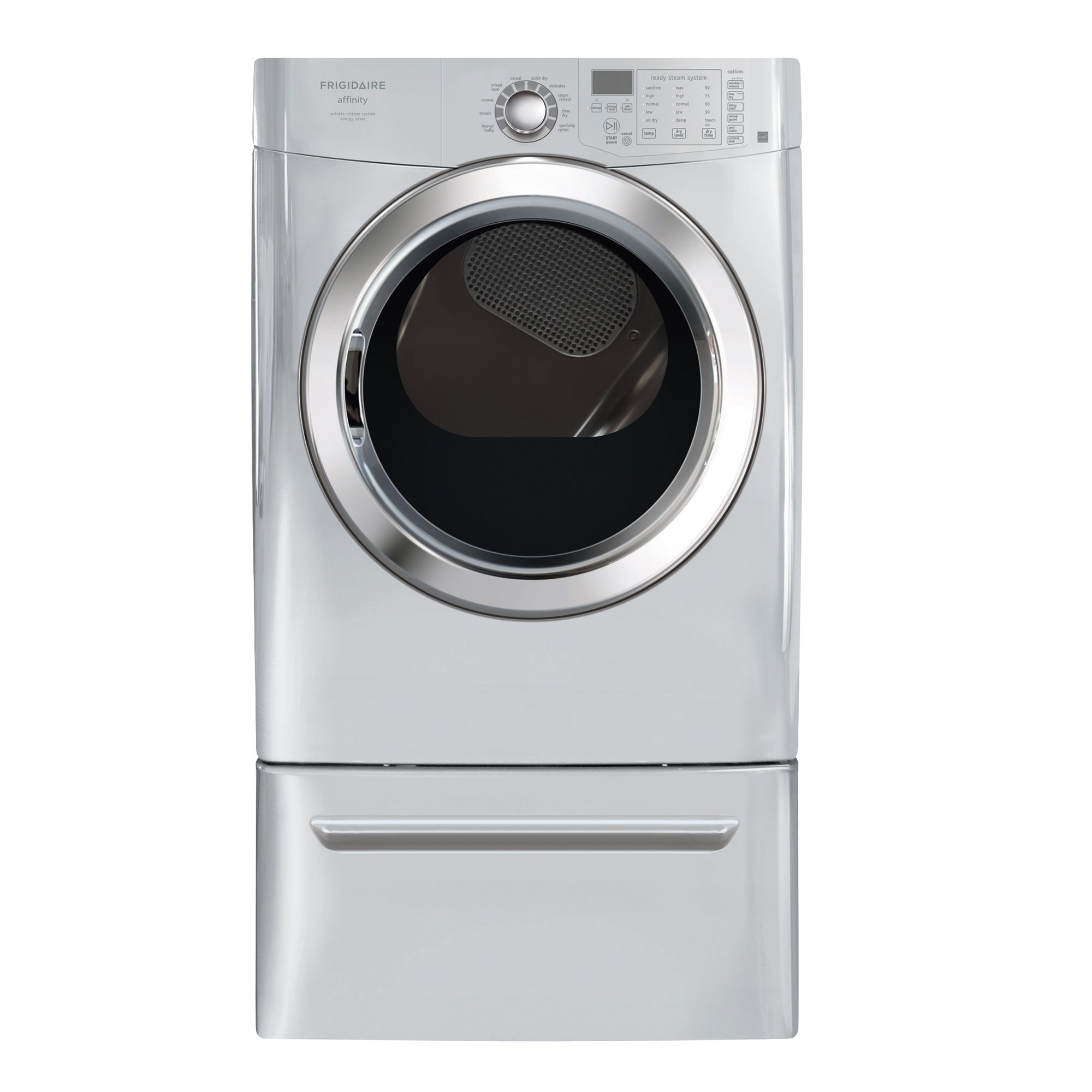 Frigidaire Affinity 7.0 cu. ft. Electric Steam Dryer (FASE7074)
