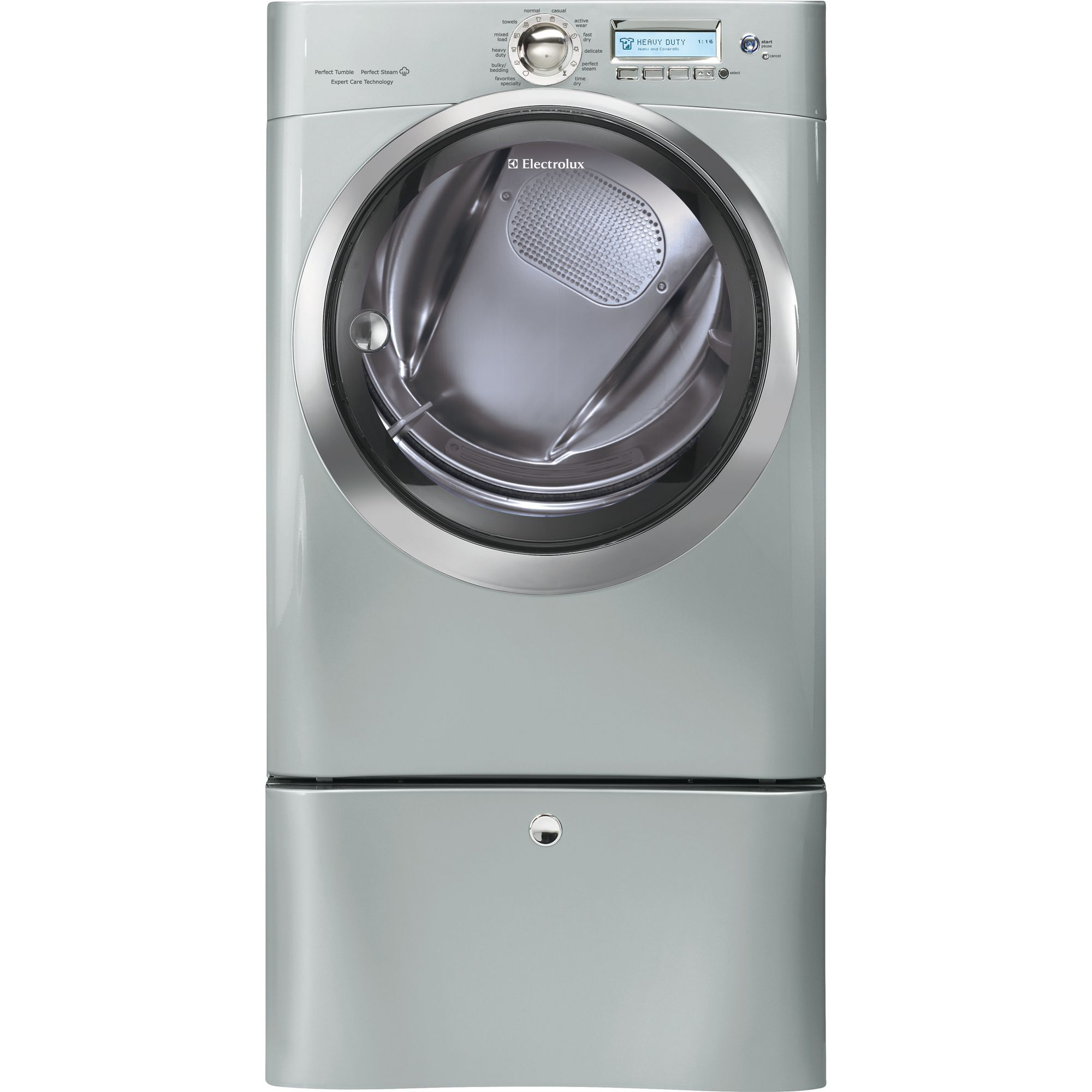 Electrolux EWMGD70JSS 8.0 cu. ft. Steam Gas Dryer - Silver Sands