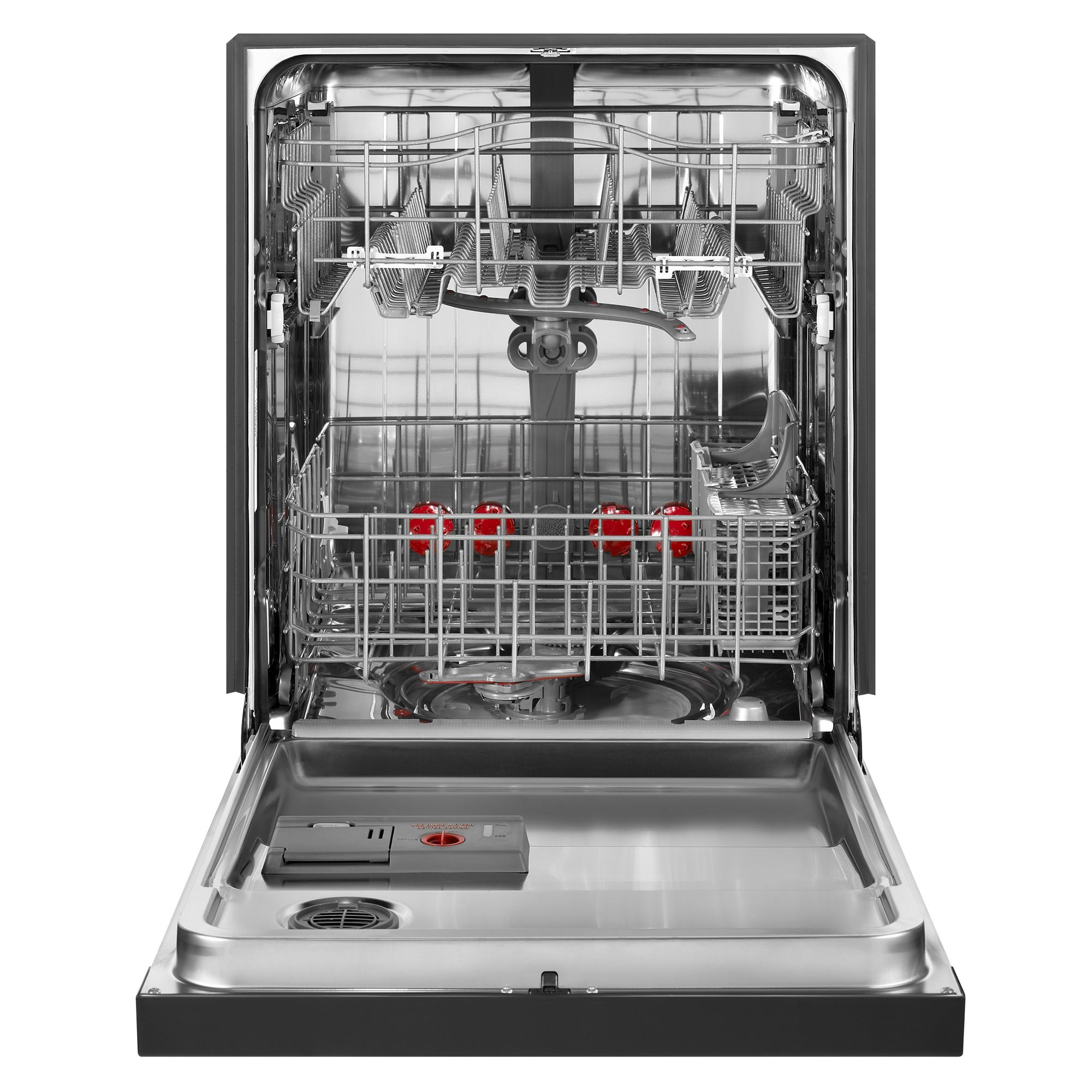 "Kenmore Elite 24"" Built-In Dishwasher w/ 360° PowerWash™ Technology - Black"
