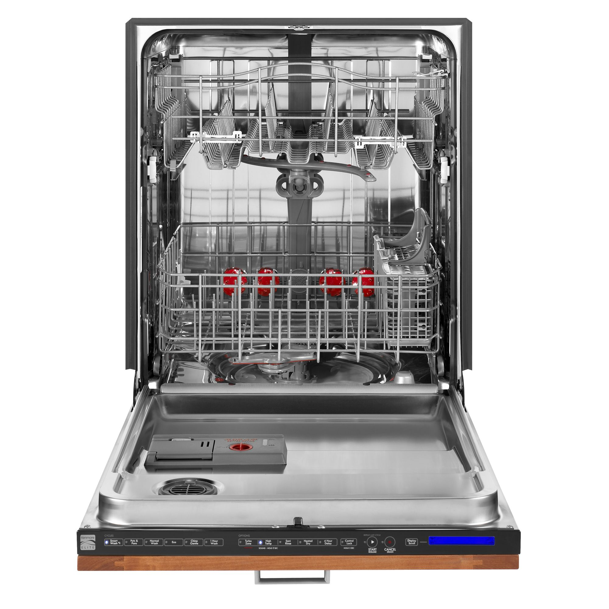 "Kenmore Elite 24"" Panel Ready Built-In Dishwasher w/ PowerWash Technology"