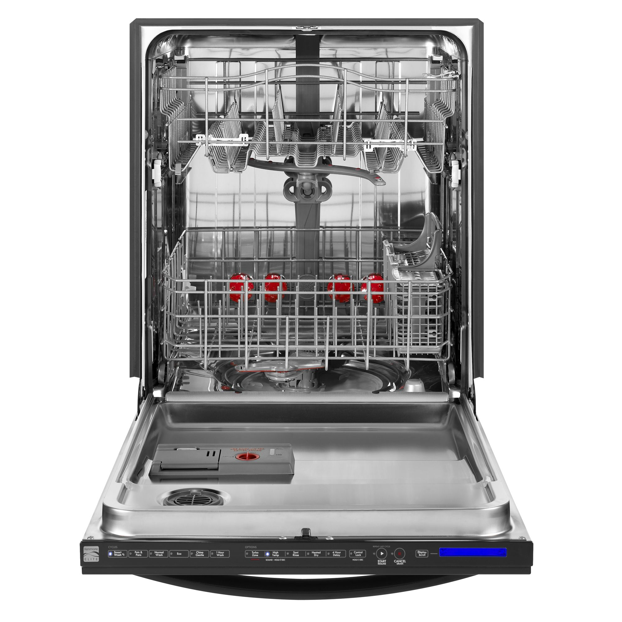 "Kenmore Elite 24"" Elite Dishwasher 360 Degree PowerWash - Black"