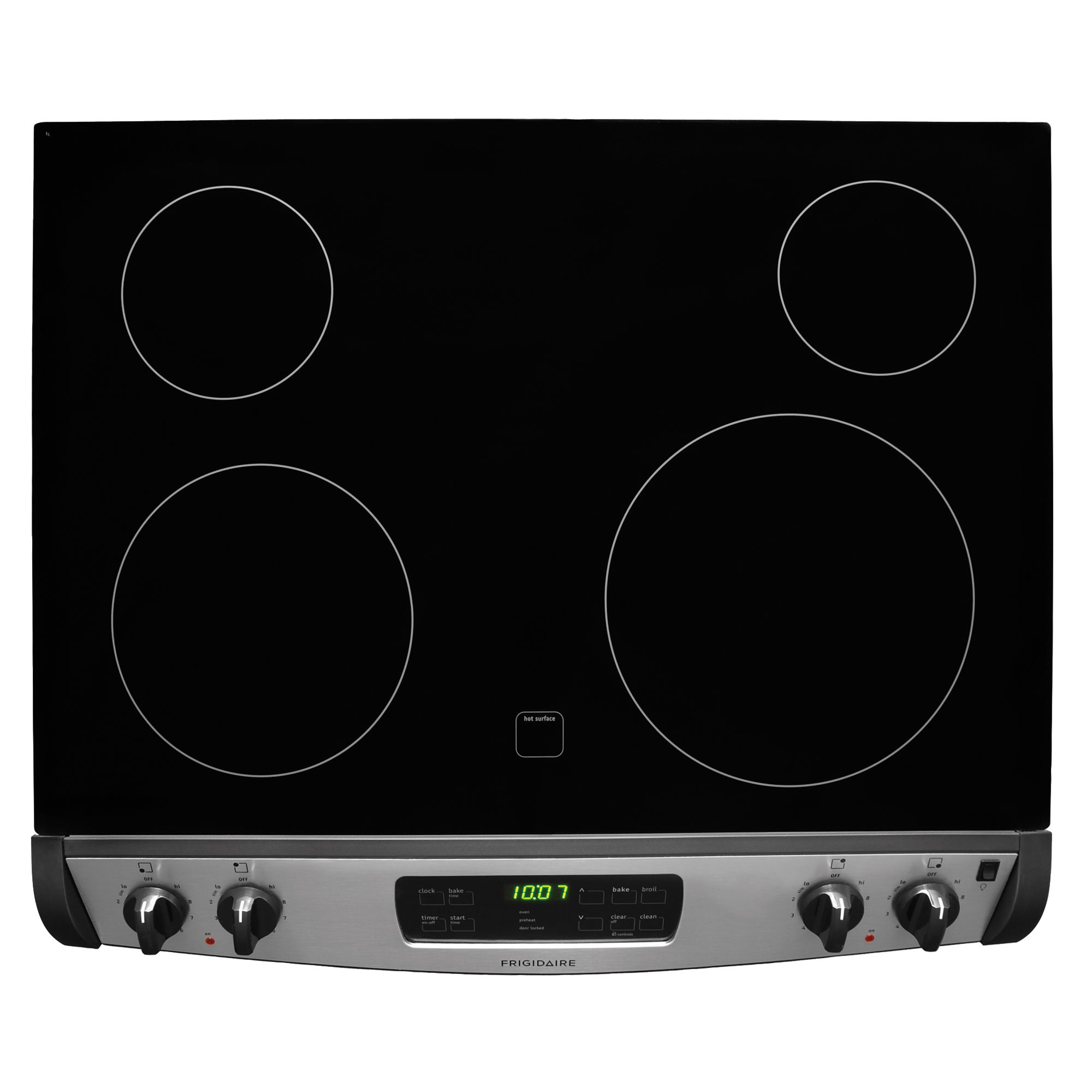 "Frigidaire 30"" Self-Clean Drop-In Electric Range - Stainless Steel"