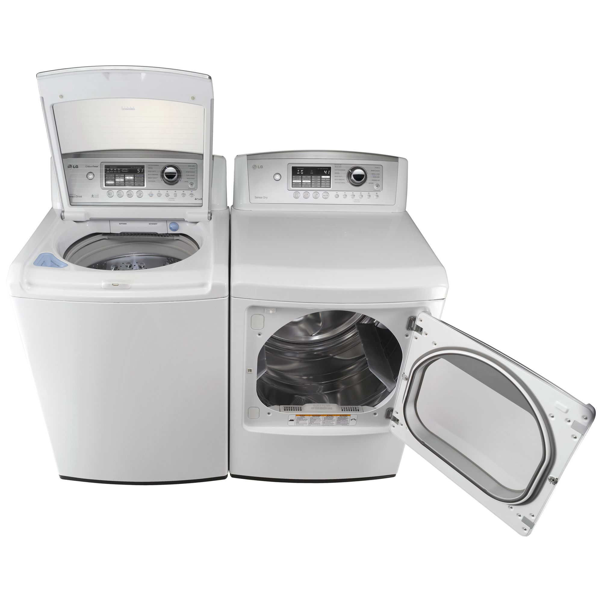 LG 7.3 cu. ft. Gas Dryer, White