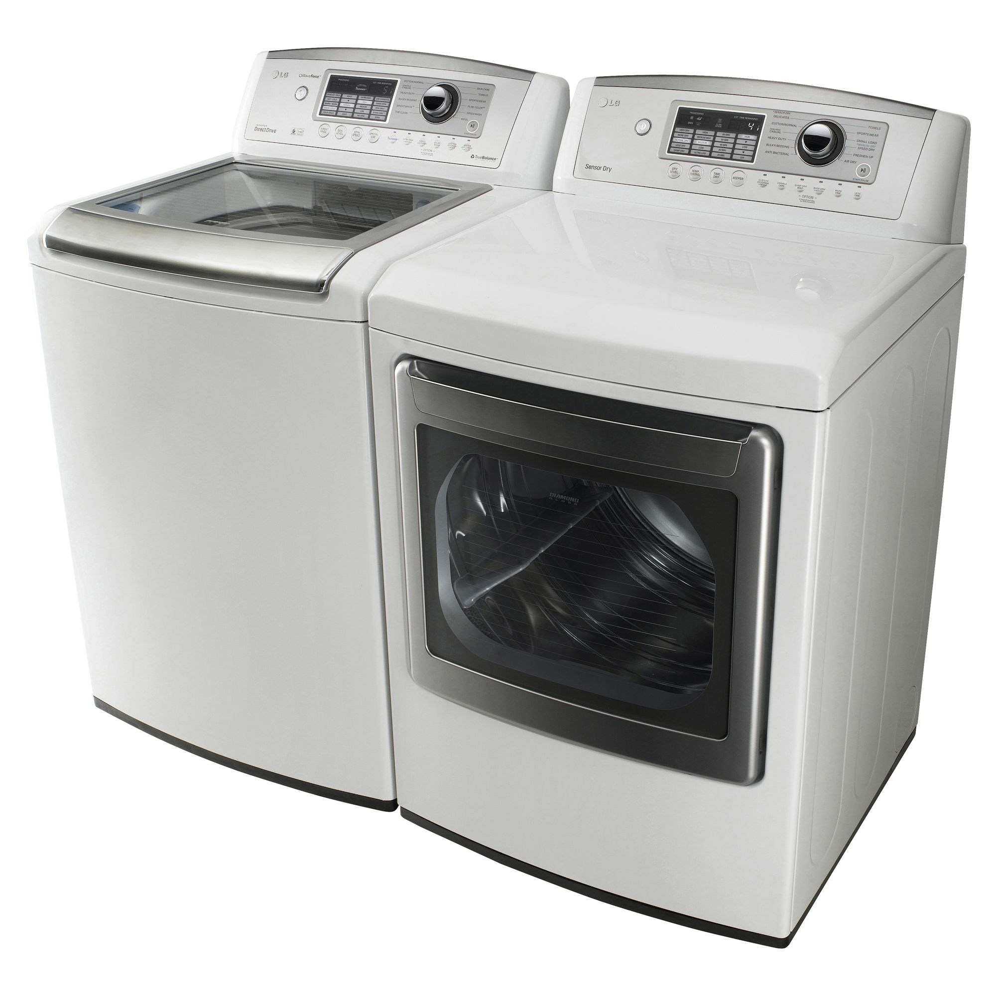 LG 7.3 cu. ft. Electric Dryer, White