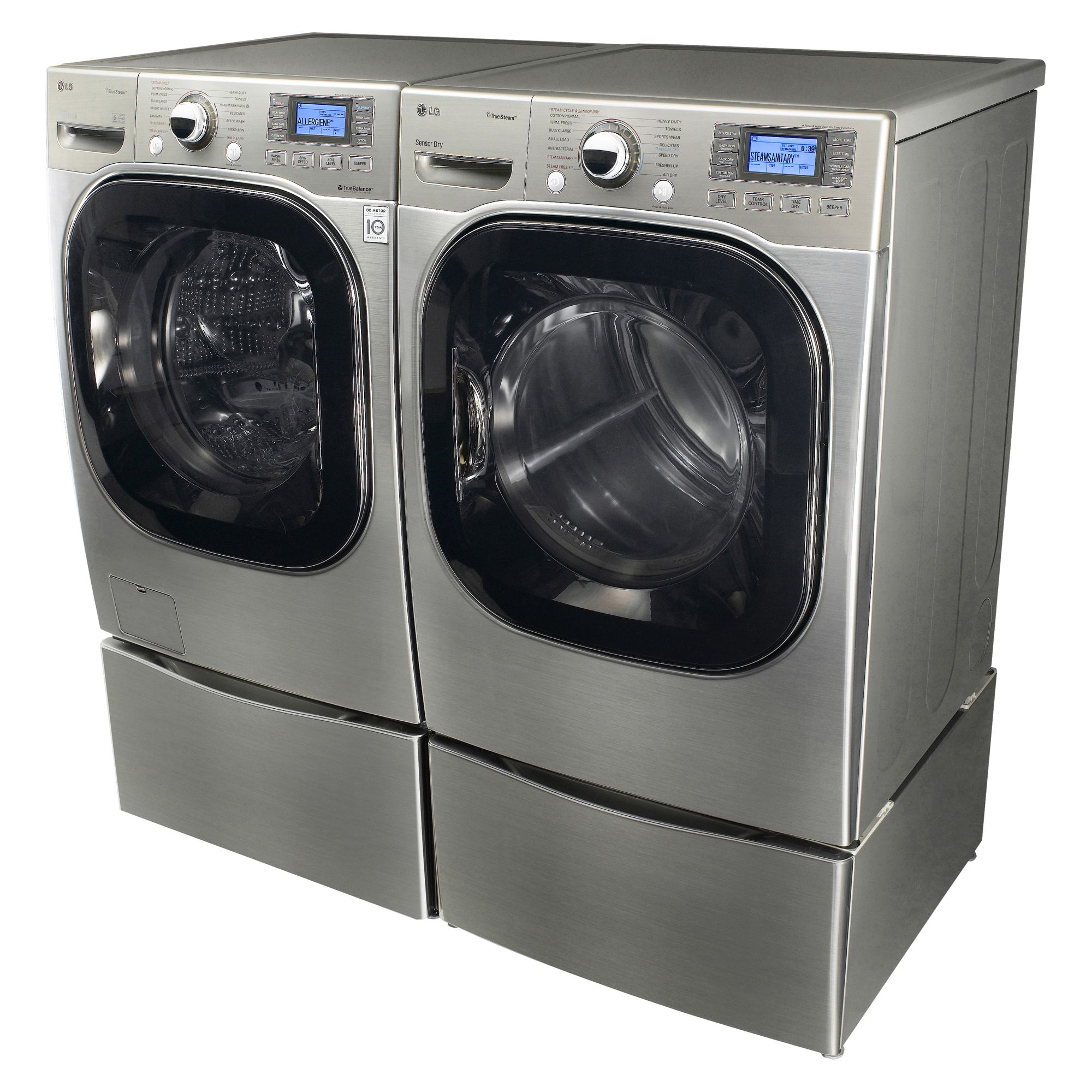 LG Front-load Steam Washing Machine 4.2 cubic feet