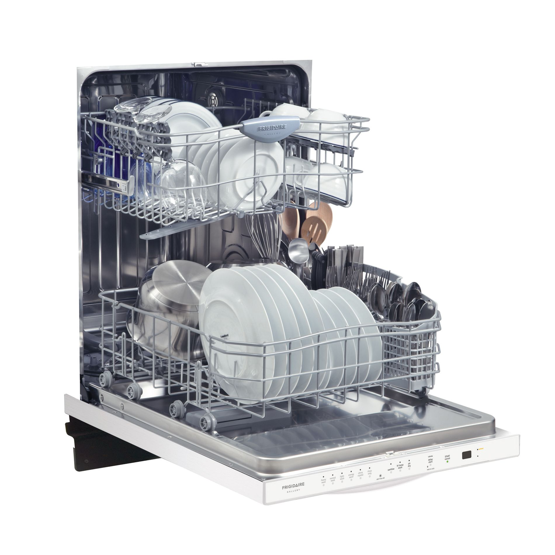 """Frigidaire Gallery 24"""" Built-In Dishwasher with Stainless Interior"""