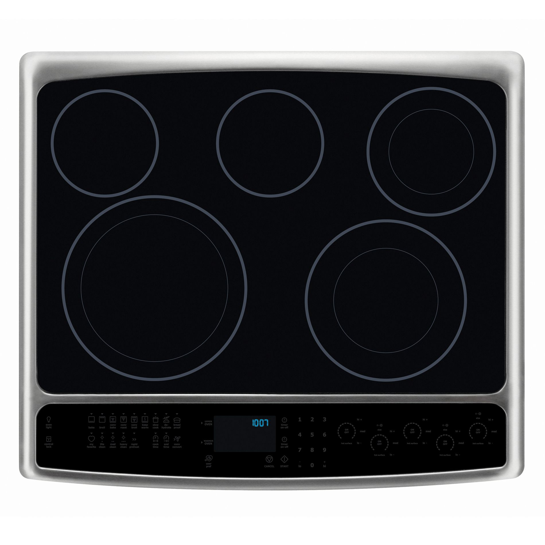 "Electrolux 30"" Slide-In Electric Range w/ IQ-Touch™ Controls - Stainless Steel"