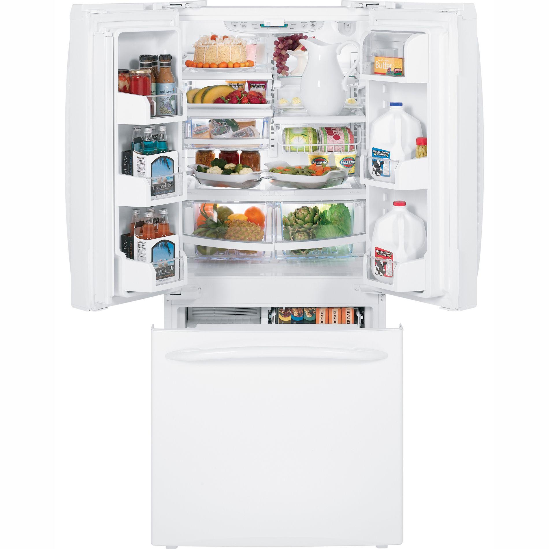 GE 19.5 cu. ft. French-Door Bottom-Freezer Refrigerator