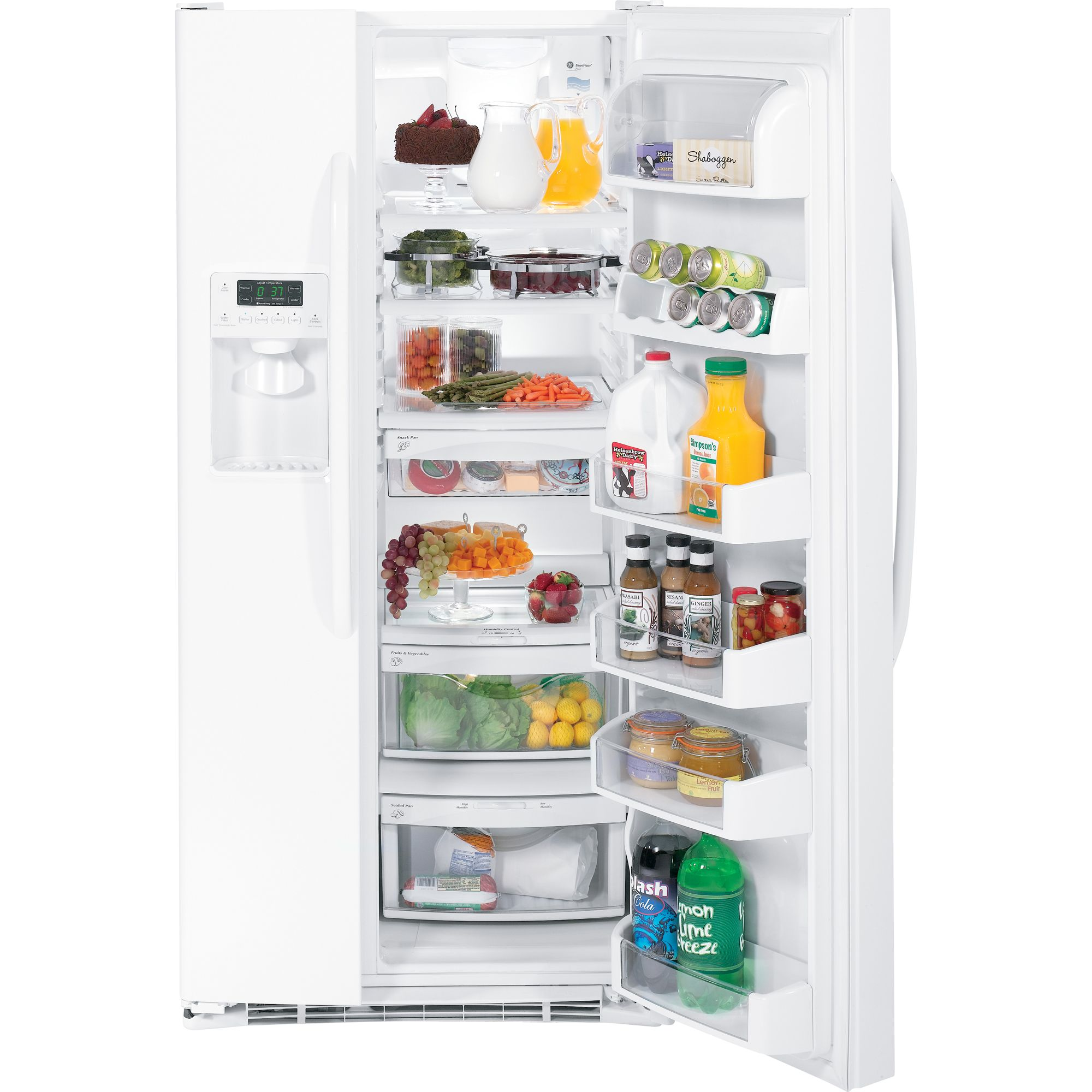 GE 23.1 cu. ft. Side-by-Side Refrigerator