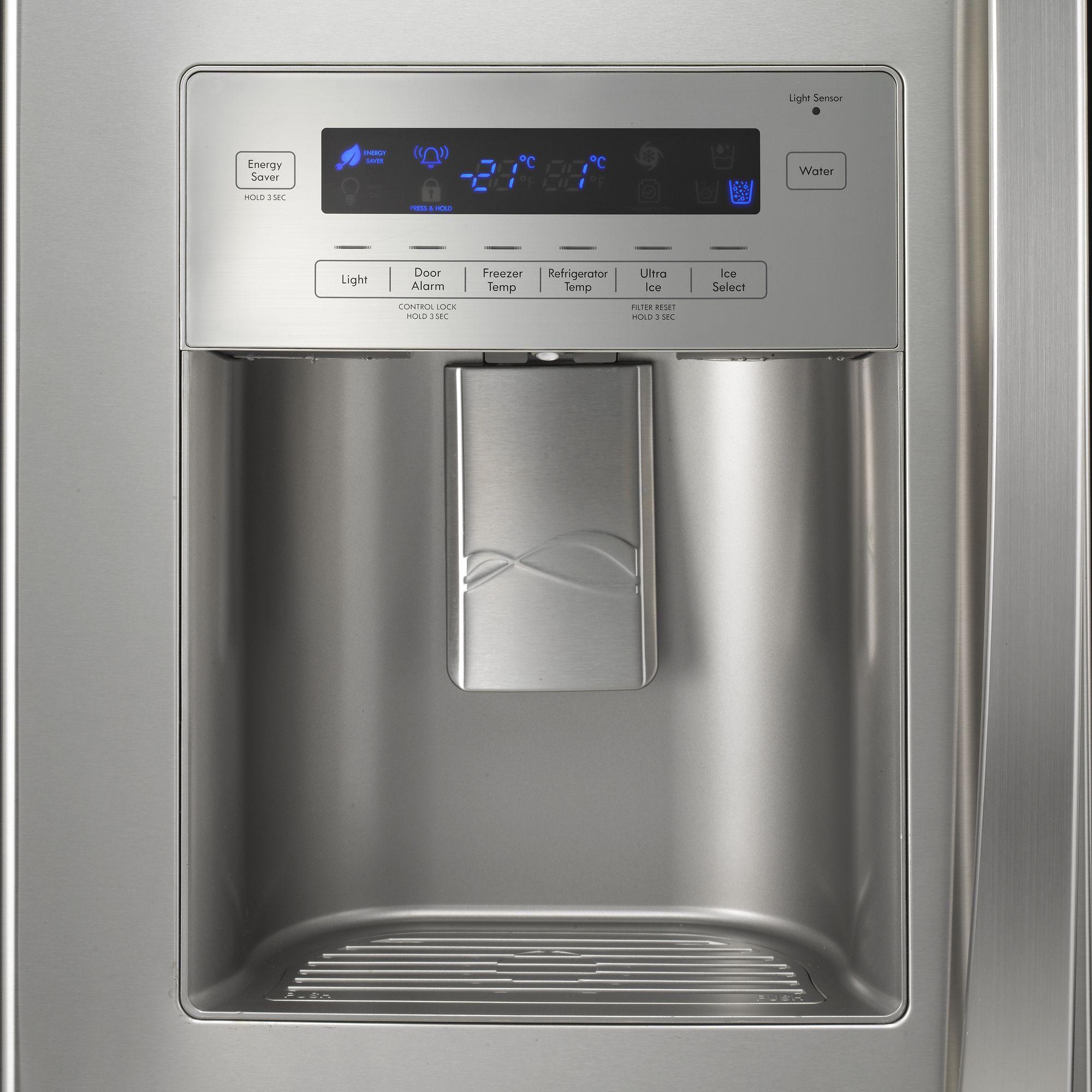 Kenmore Elite 25.0 cu. ft. French-Door Bottom-Freezer Refrigerator - Stainless Steel