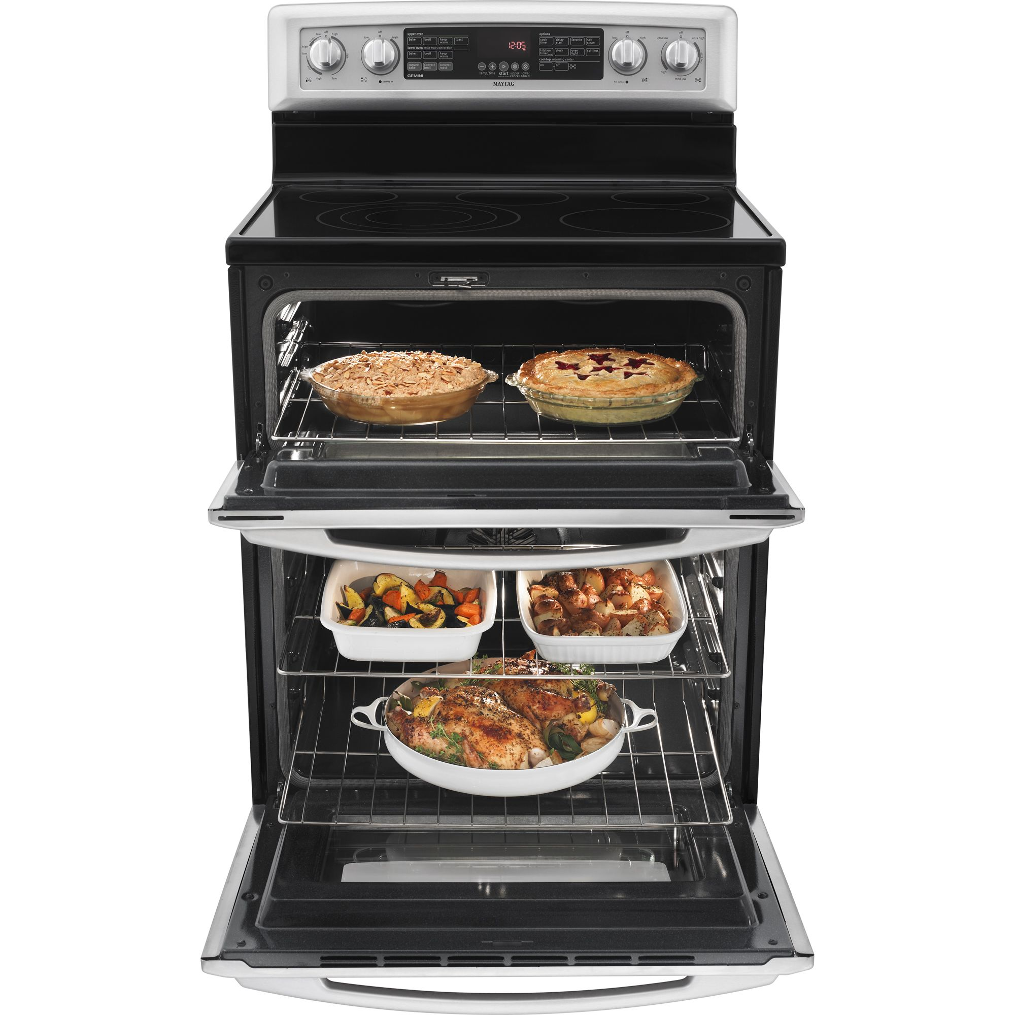 "Maytag 30"" Double Oven Freestanding Electric Range"