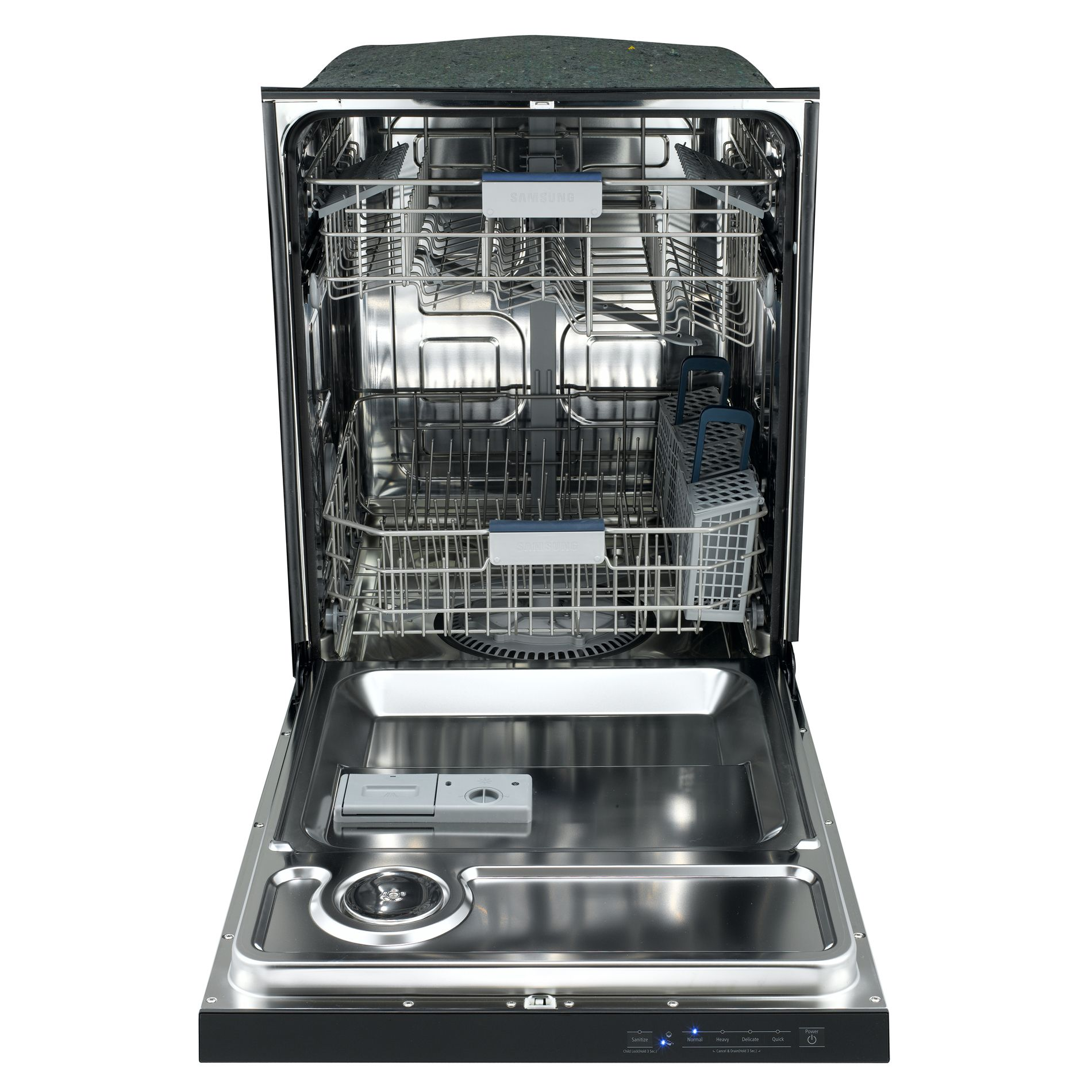 "Samsung 24"" Built-In Dishwasher - Black"