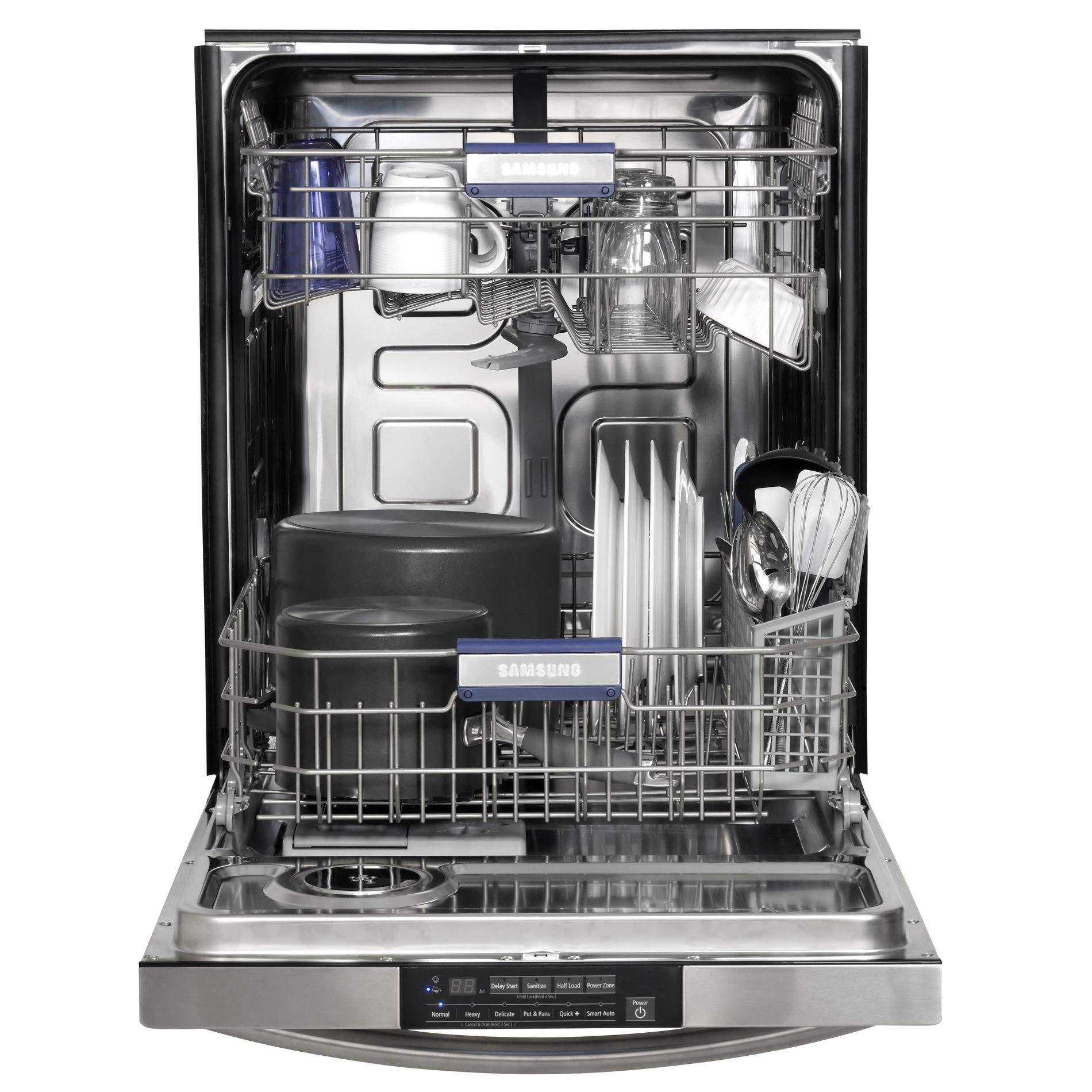 "Samsung 24"" Built-In Dishwasher - Stainless Steel"