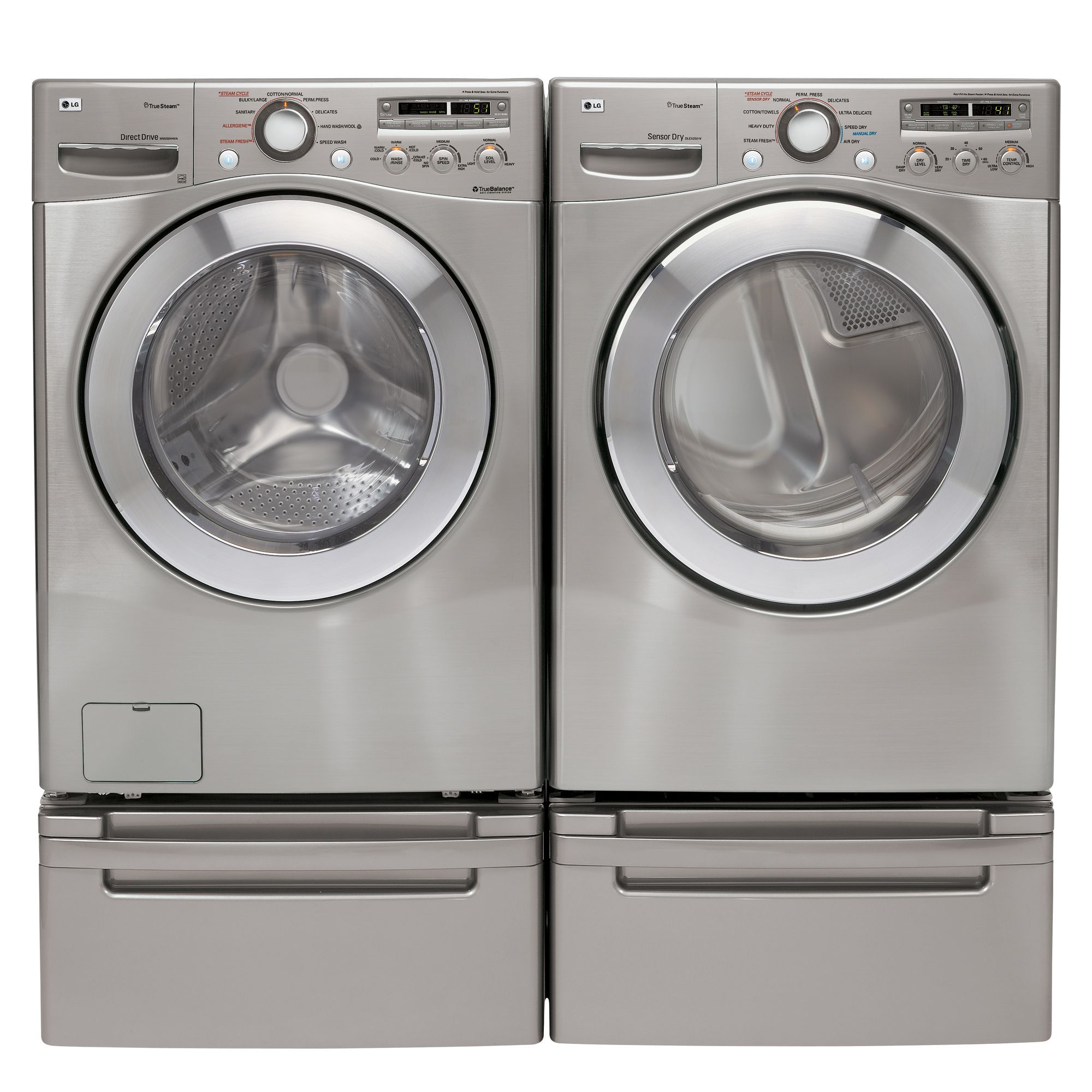 LG 7.3 cu. ft. Gas Dryer (DLGX2502)