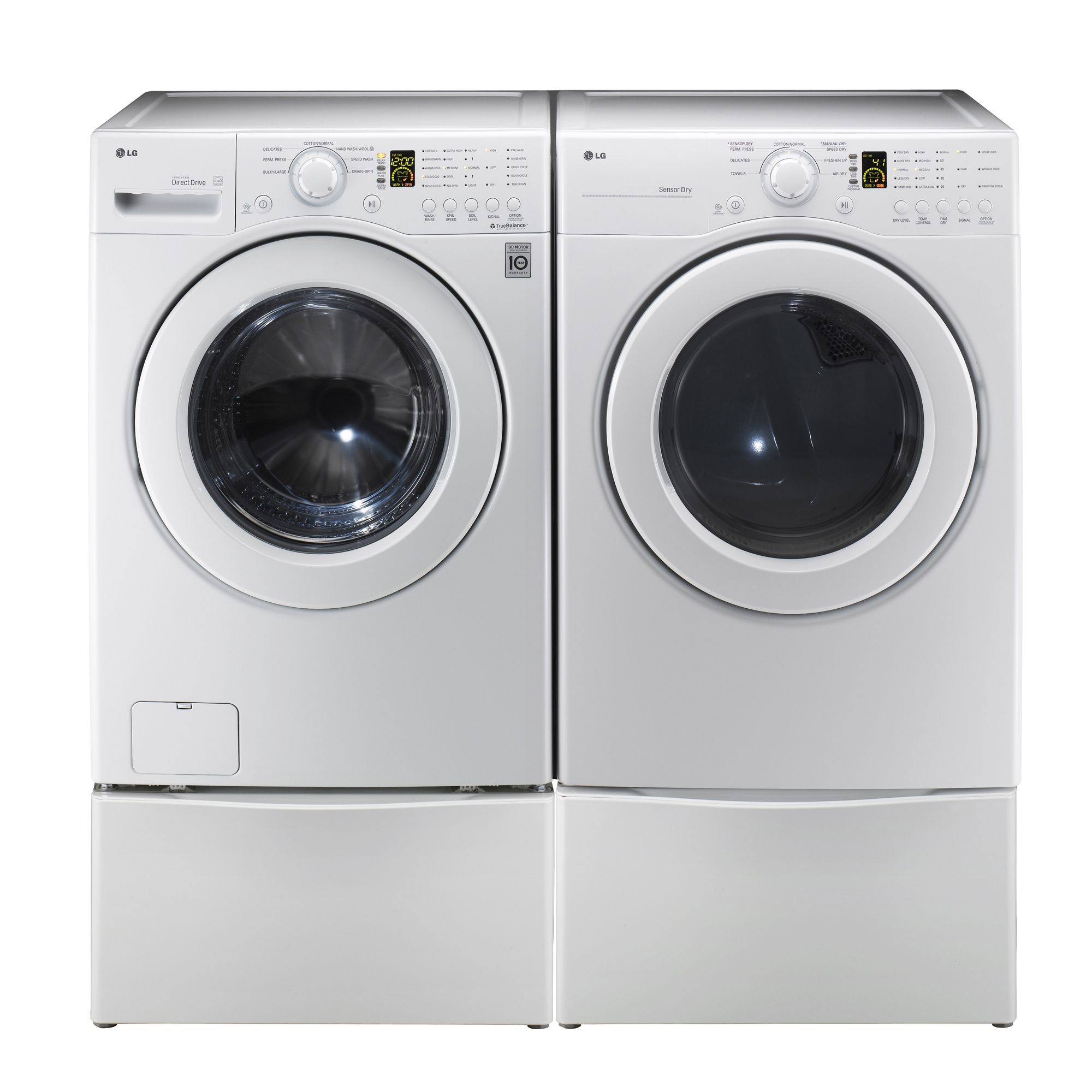 LG 3.5 cu. ft. Front-Load Washer