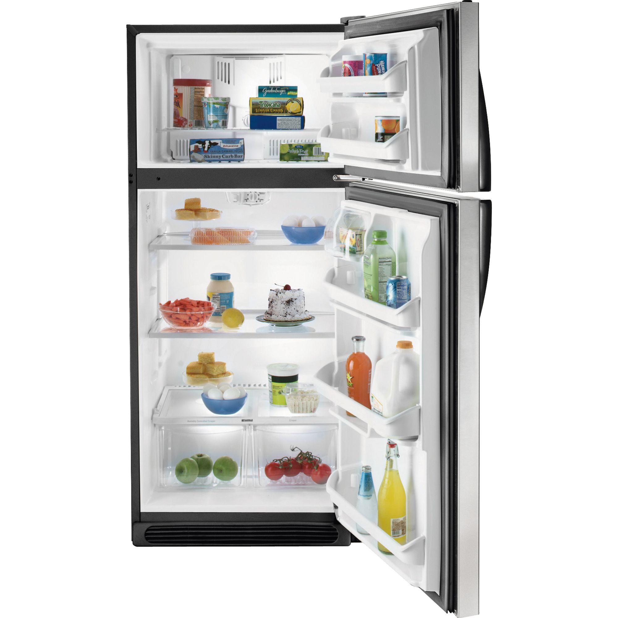 Kenmore 18.2 cu. ft. Top-Freezer Refrigerator - Stainless Steel